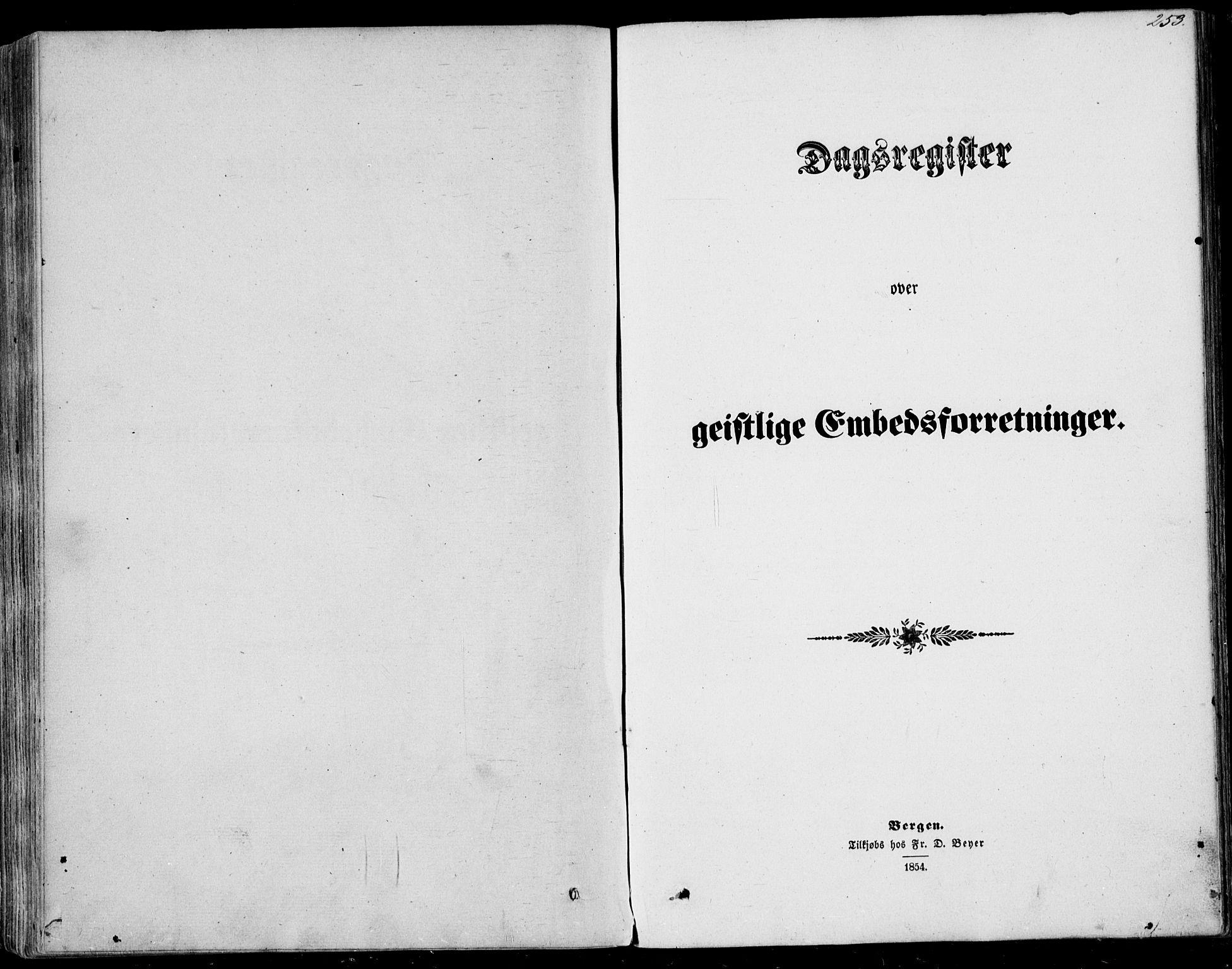 SAST, Nedstrand sokneprestkontor, IV: Ministerialbok nr. A 9, 1861-1876, s. 253