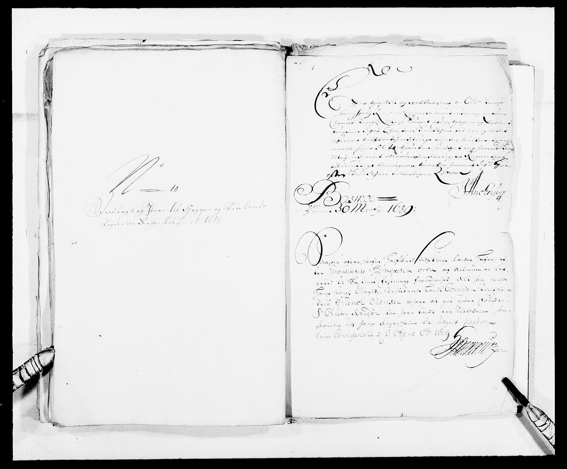 RA, Rentekammeret inntil 1814, Reviderte regnskaper, Fogderegnskap, R06/L0282: Fogderegnskap Heggen og Frøland, 1687-1690, s. 183