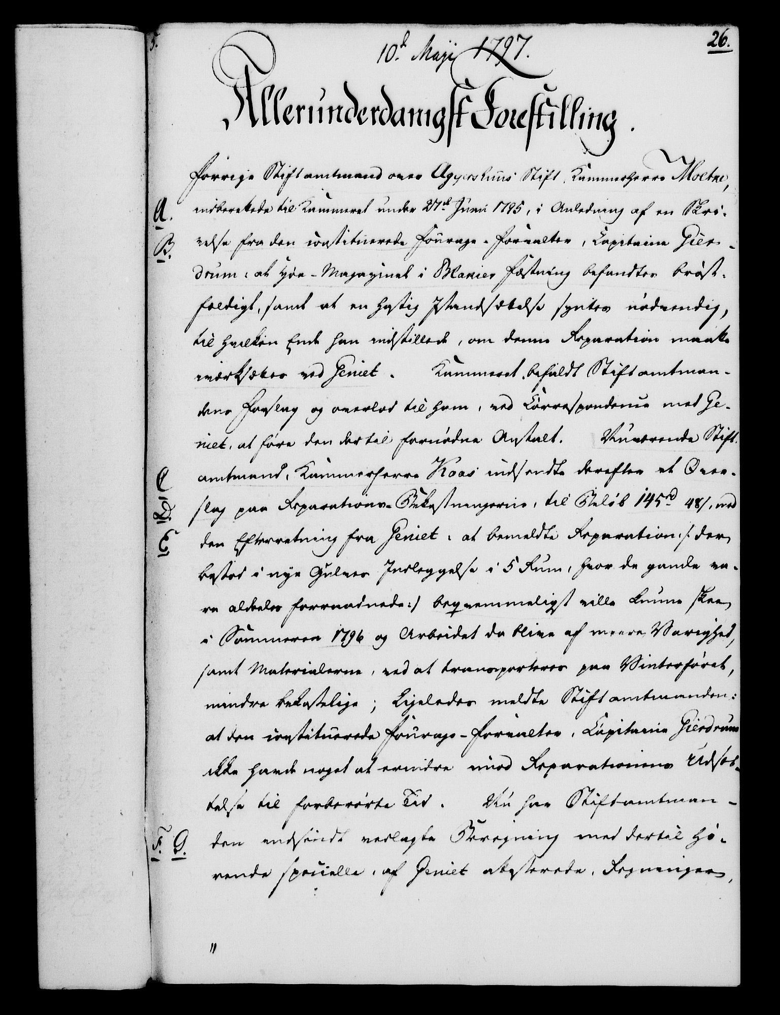 RA, Rentekammeret, Kammerkanselliet, G/Gf/Gfa/L0079: Norsk relasjons- og resolusjonsprotokoll (merket RK 52.79), 1797, s. 150