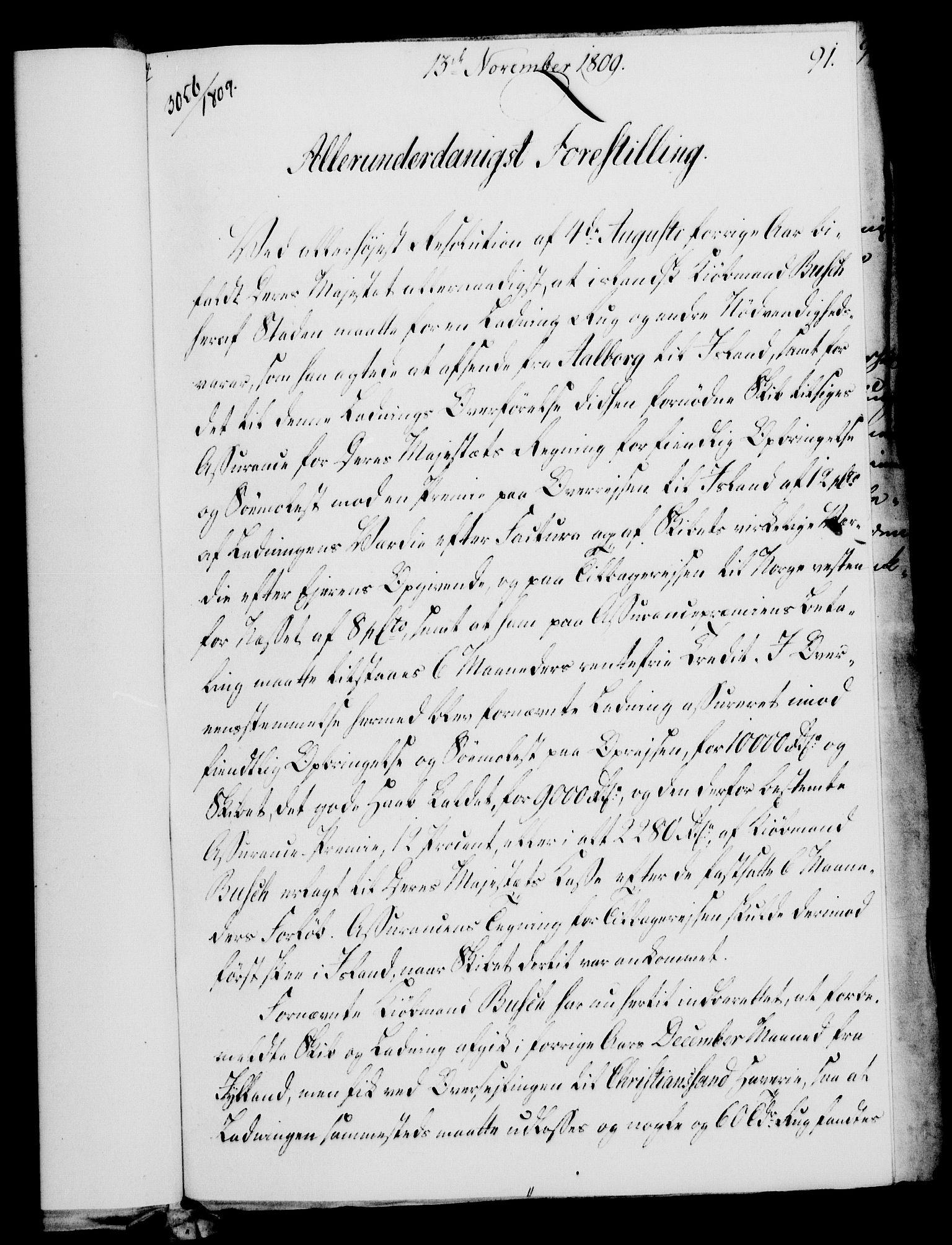 RA, Rentekammeret, Kammerkanselliet, G/Gf/Gfa/L0091: Norsk relasjons- og resolusjonsprotokoll (merket RK 52.91), 1809, s. 363
