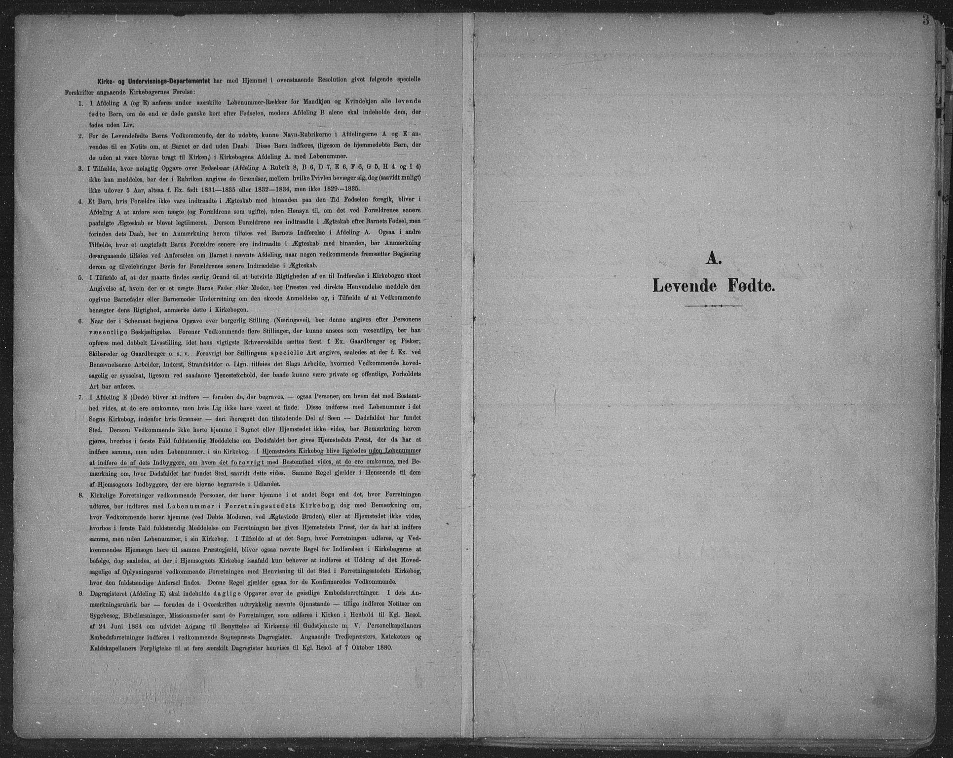 SAKO, Skien kirkebøker, F/Fa/L0011: Ministerialbok nr. 11, 1900-1907, s. 3