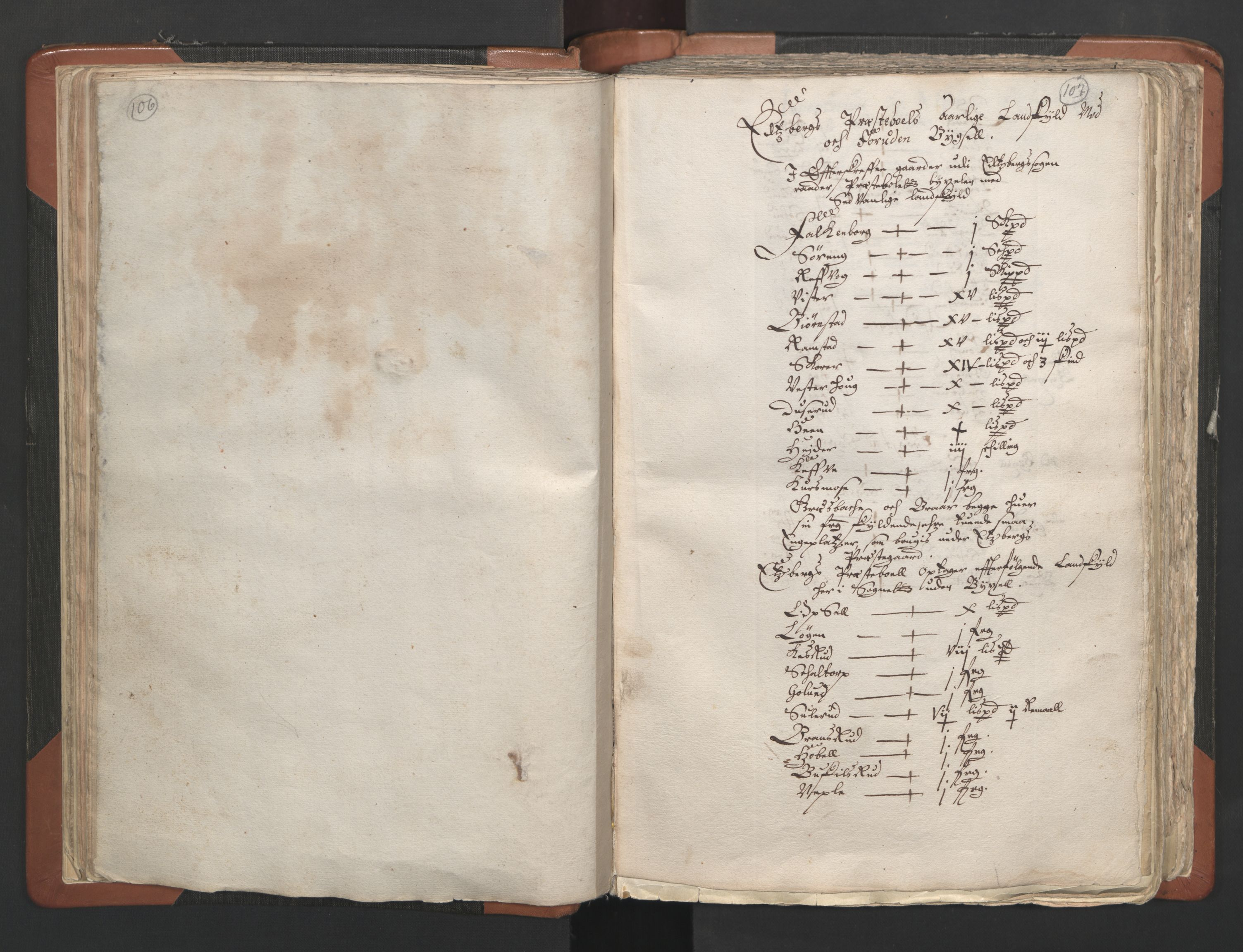 RA, Sogneprestenes manntall 1664-1666, nr. 2: Øvre Borgesyssel prosti, 1664-1666, s. 106-107