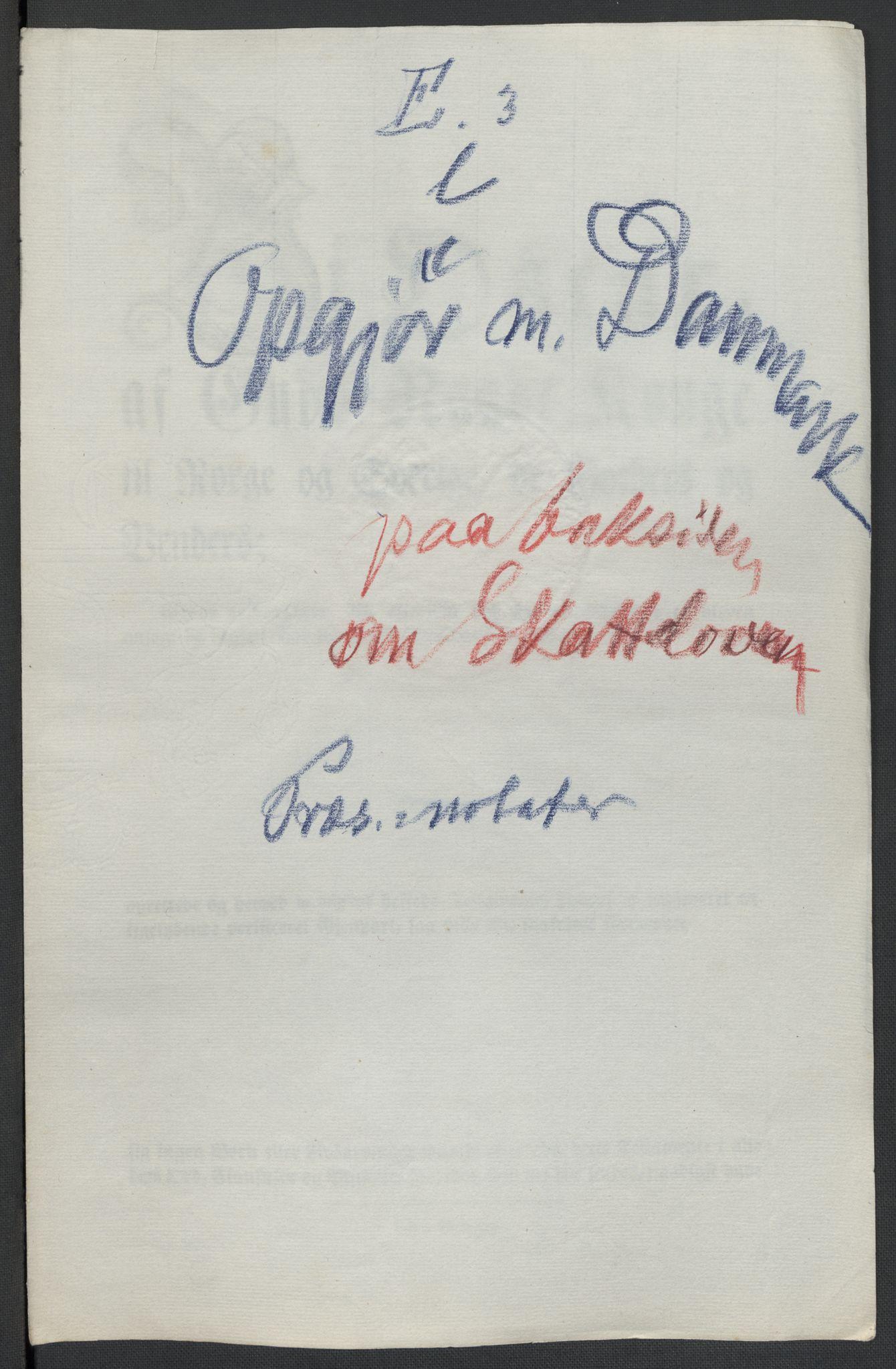 RA, Christie, Wilhelm Frimann Koren, F/L0005, 1815-1816, s. 261