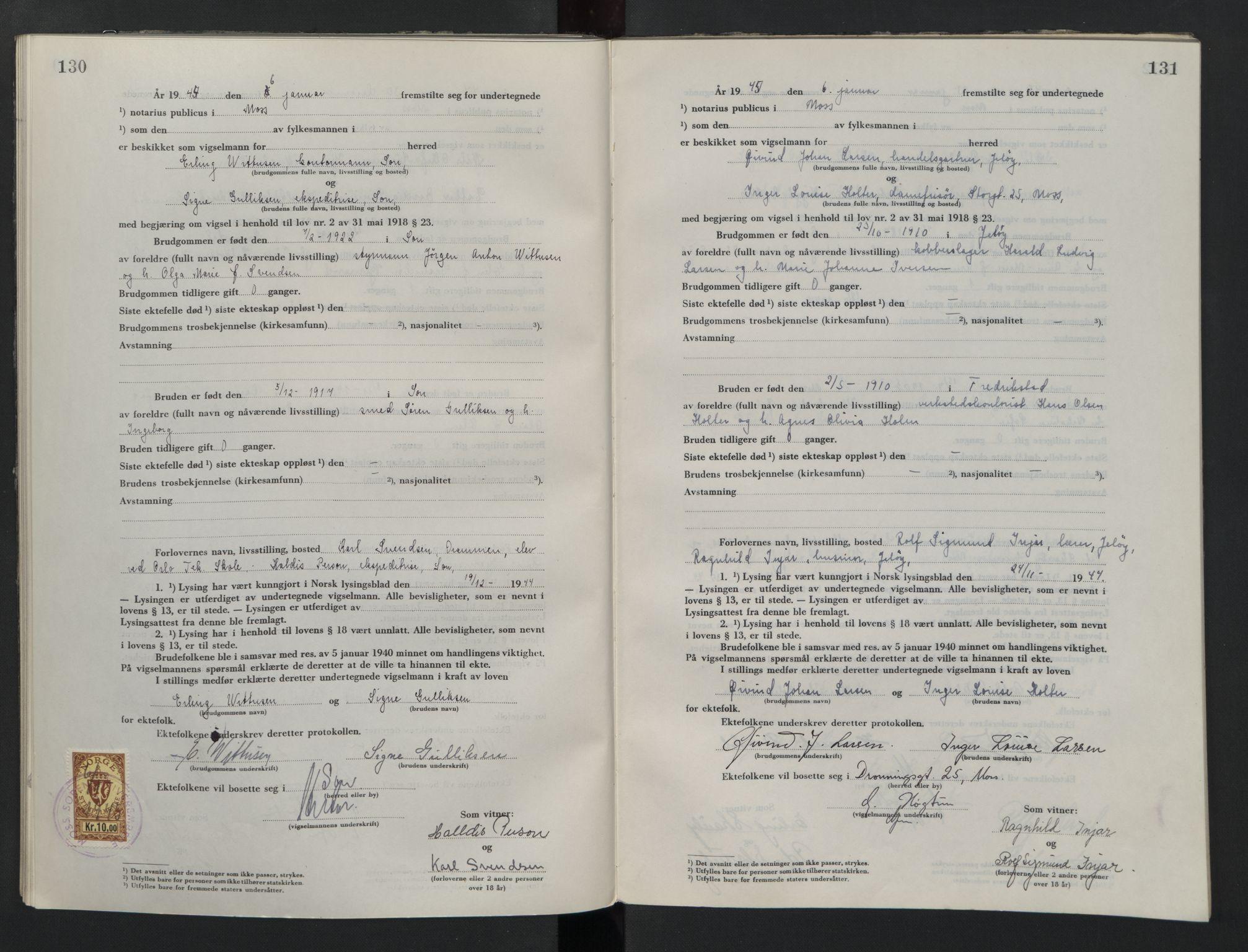 SAO, Moss sorenskriveri, 1944-1945, s. 130-131