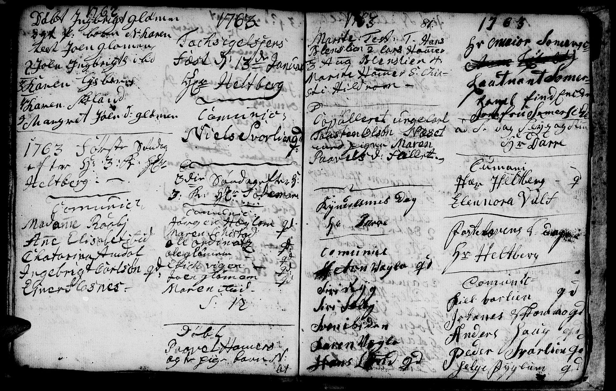 SAT, Ministerialprotokoller, klokkerbøker og fødselsregistre - Nord-Trøndelag, 764/L0543: Ministerialbok nr. 764A03, 1758-1765, s. 81