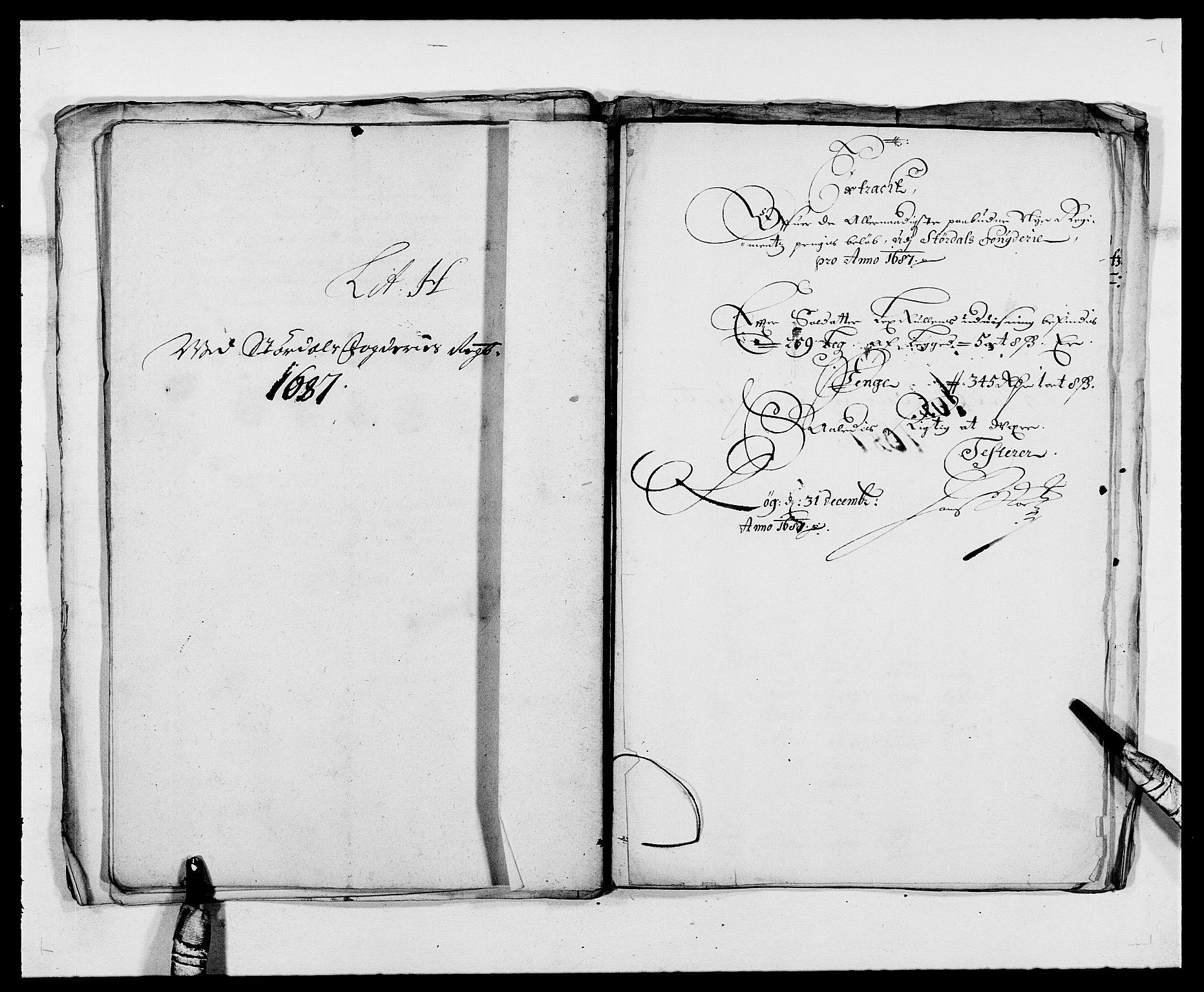 RA, Rentekammeret inntil 1814, Reviderte regnskaper, Fogderegnskap, R62/L4183: Fogderegnskap Stjørdal og Verdal, 1687-1689, s. 72