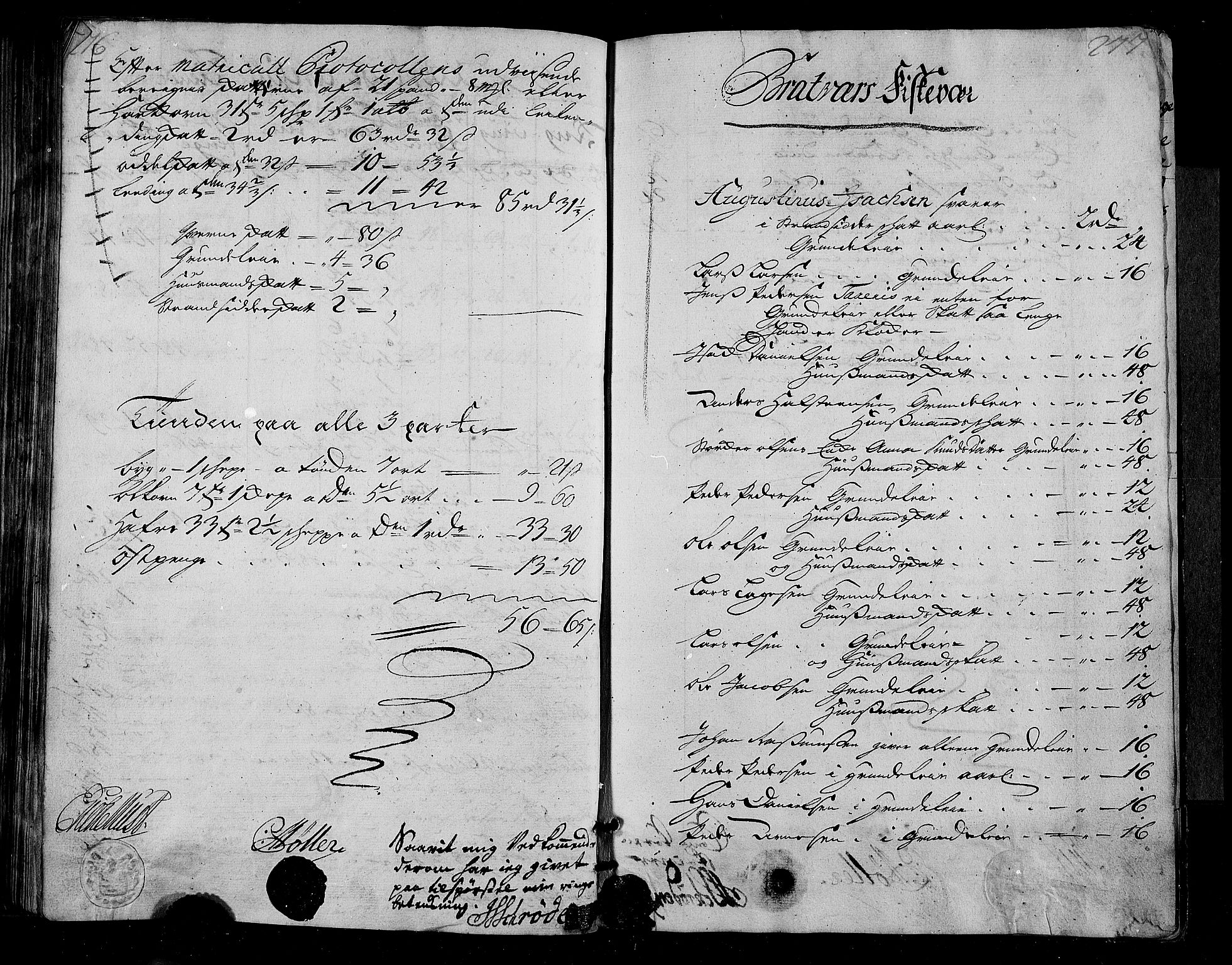 RA, Rentekammeret inntil 1814, Realistisk ordnet avdeling, N/Nb/Nbf/L0155: Nordmøre matrikkelprotokoll, 1721-1723, s. 276-277
