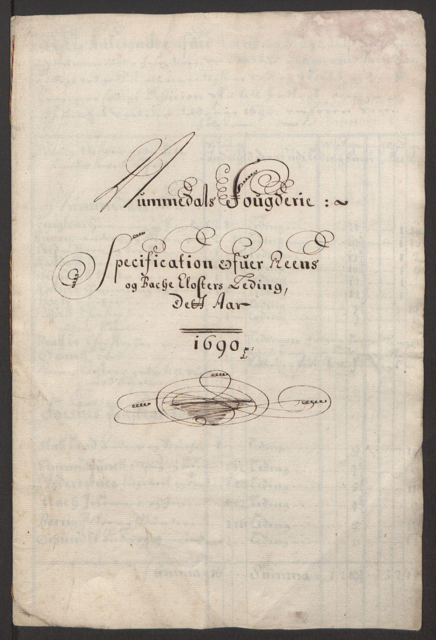 RA, Rentekammeret inntil 1814, Reviderte regnskaper, Fogderegnskap, R64/L4423: Fogderegnskap Namdal, 1690-1691, s. 118