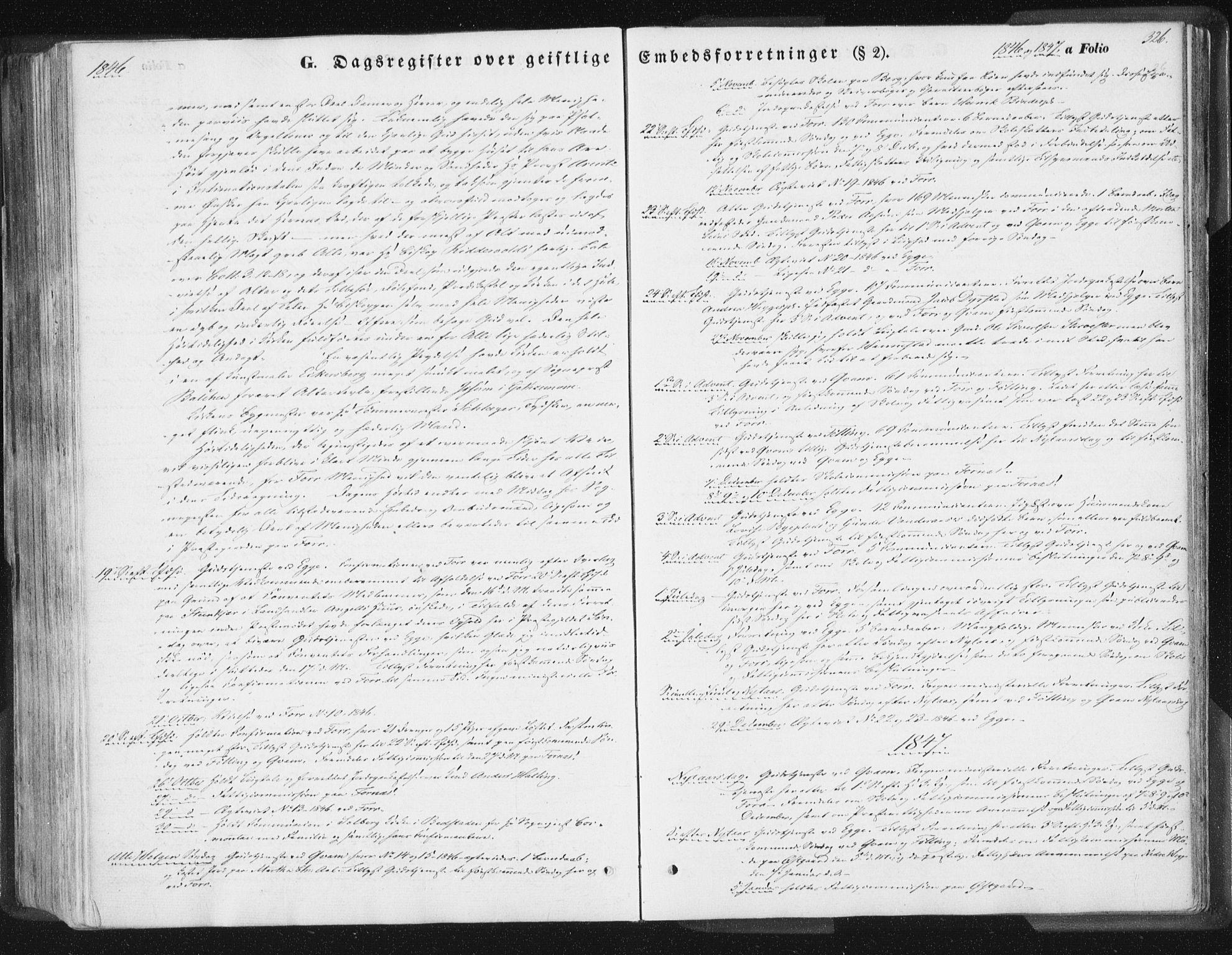 SAT, Ministerialprotokoller, klokkerbøker og fødselsregistre - Nord-Trøndelag, 746/L0446: Ministerialbok nr. 746A05, 1846-1859, s. 326