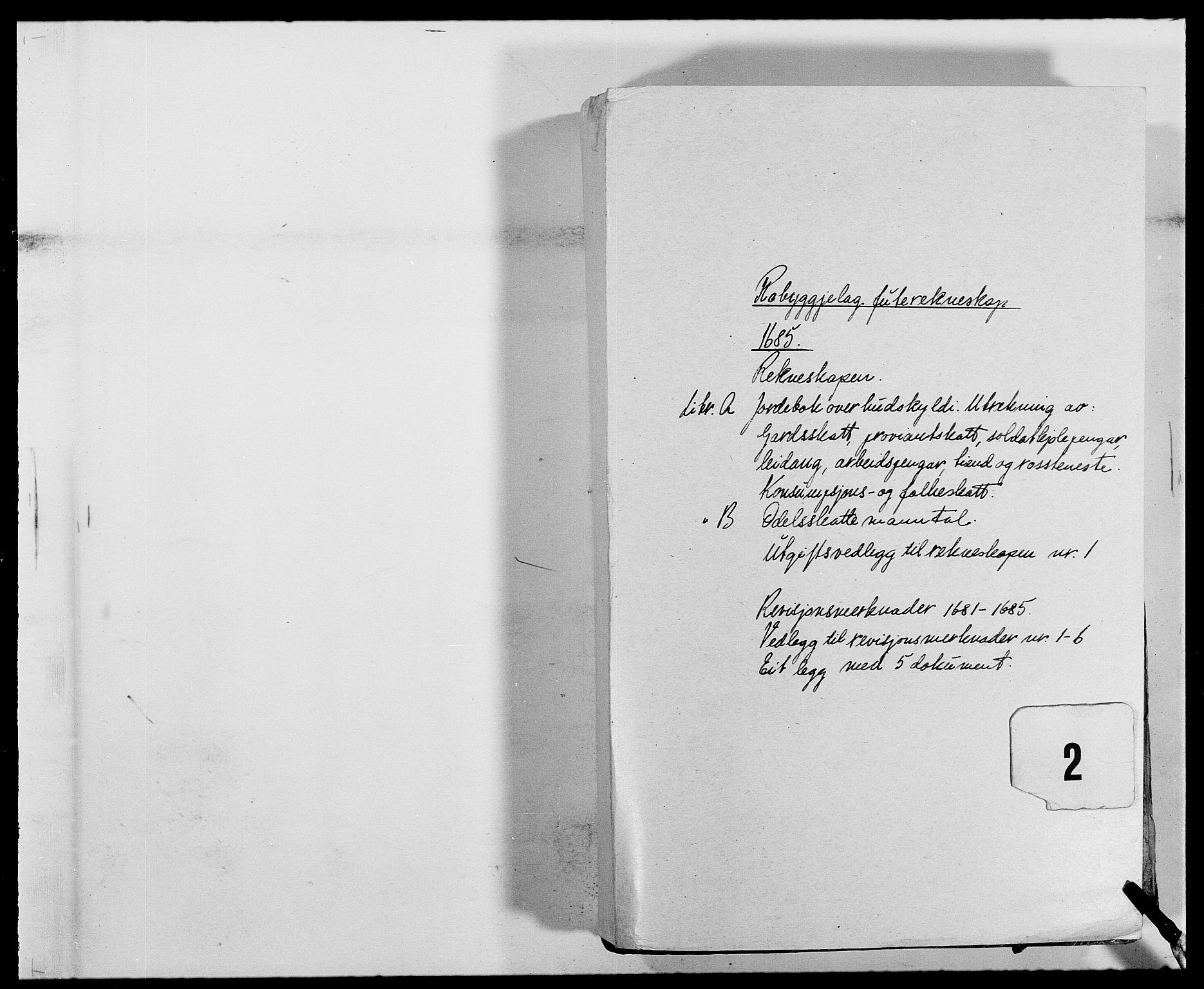 RA, Rentekammeret inntil 1814, Reviderte regnskaper, Fogderegnskap, R40/L2439: Fogderegnskap Råbyggelag, 1684-1685, s. 119