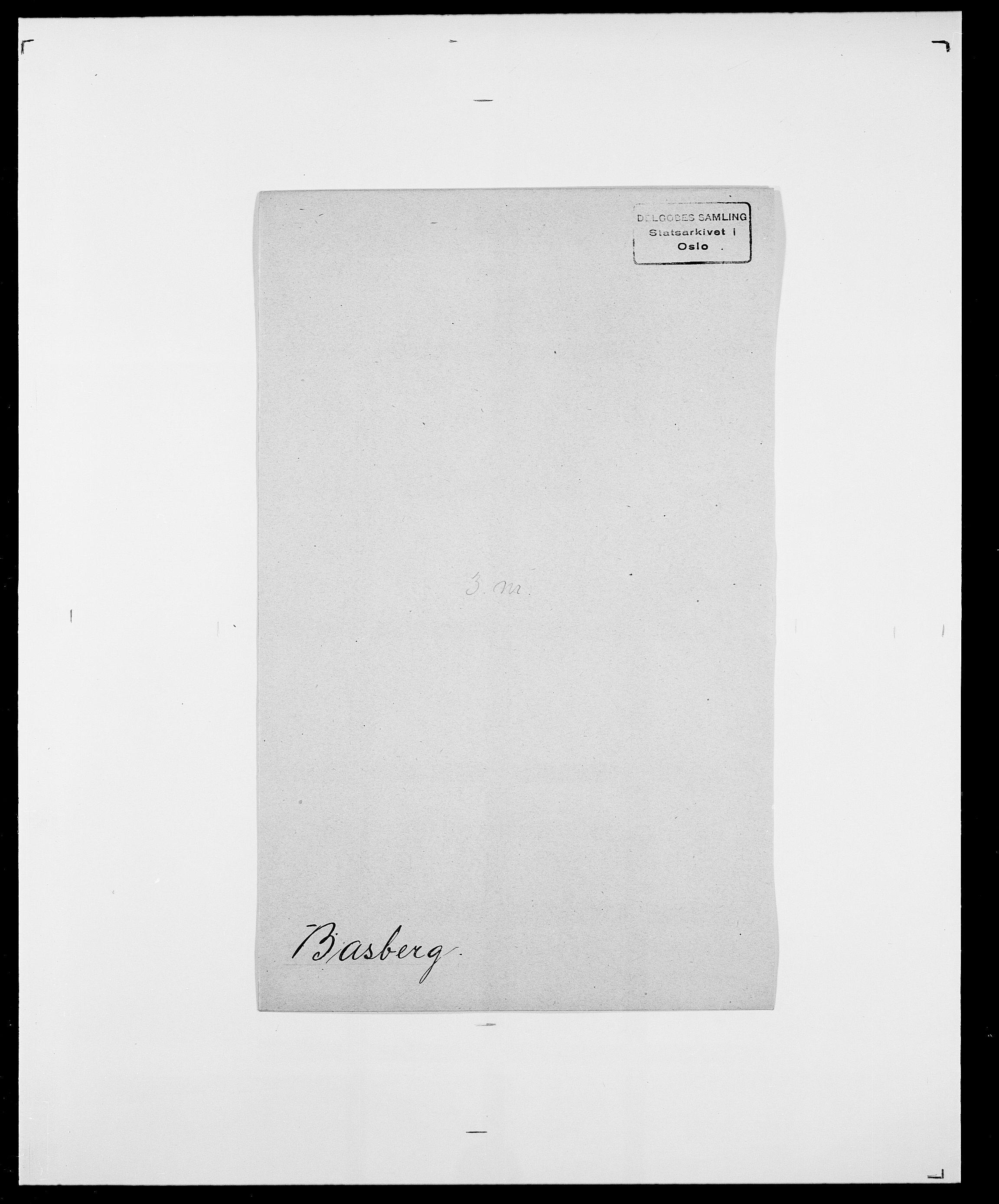 SAO, Delgobe, Charles Antoine - samling, D/Da/L0003: Barca - Bergen, s. 410