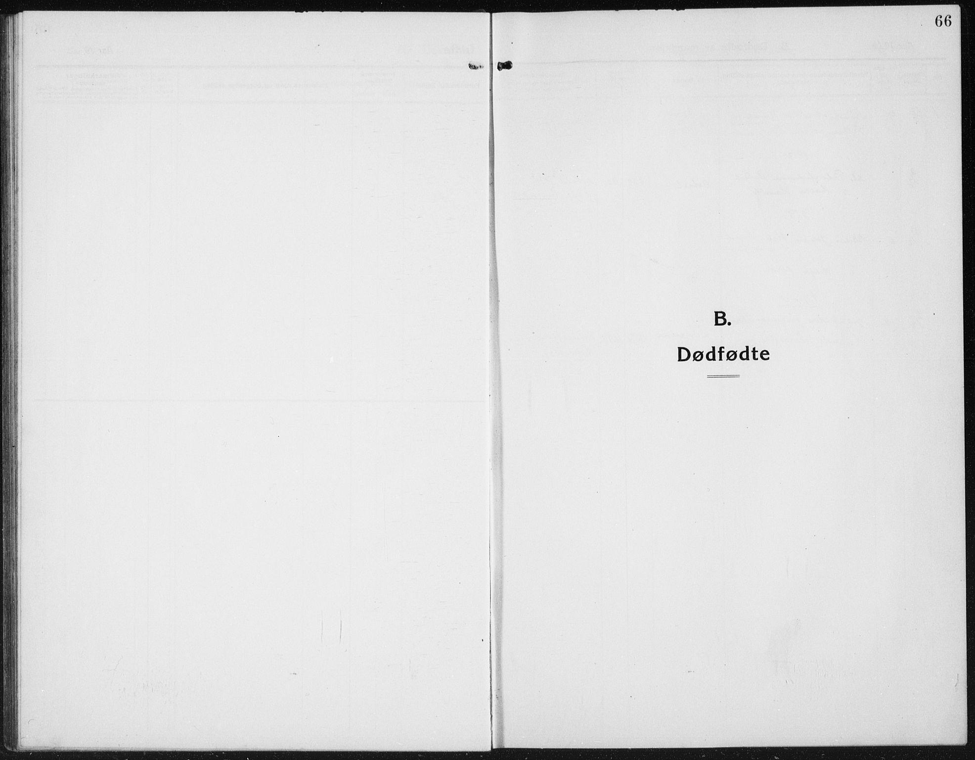 SAH, Kolbu prestekontor, Klokkerbok nr. 6, 1916-1934, s. 66