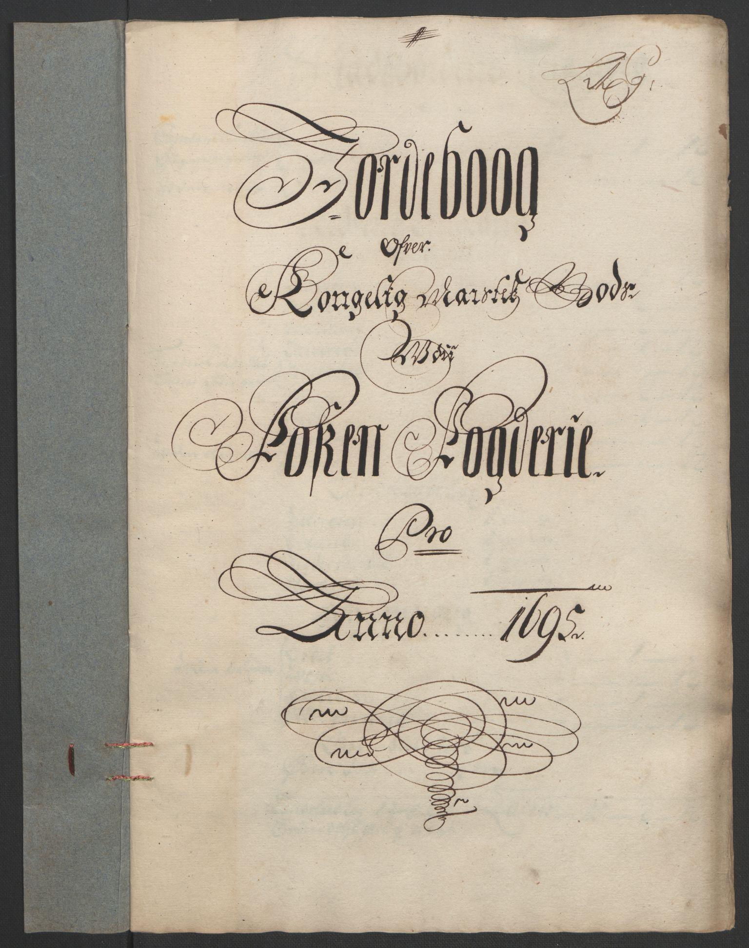 RA, Rentekammeret inntil 1814, Reviderte regnskaper, Fogderegnskap, R57/L3851: Fogderegnskap Fosen, 1695-1696, s. 120