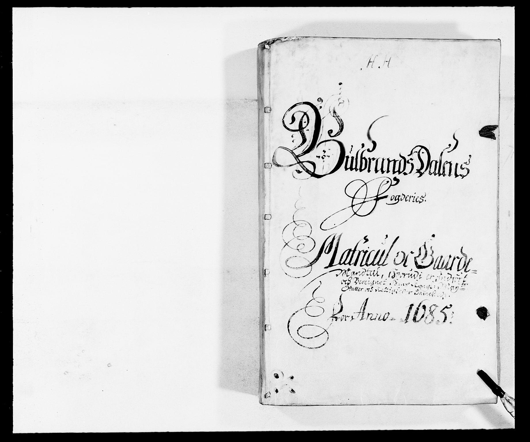 RA, Rentekammeret inntil 1814, Reviderte regnskaper, Fogderegnskap, R17/L1160: Fogderegnskap Gudbrandsdal, 1682-1689, s. 60