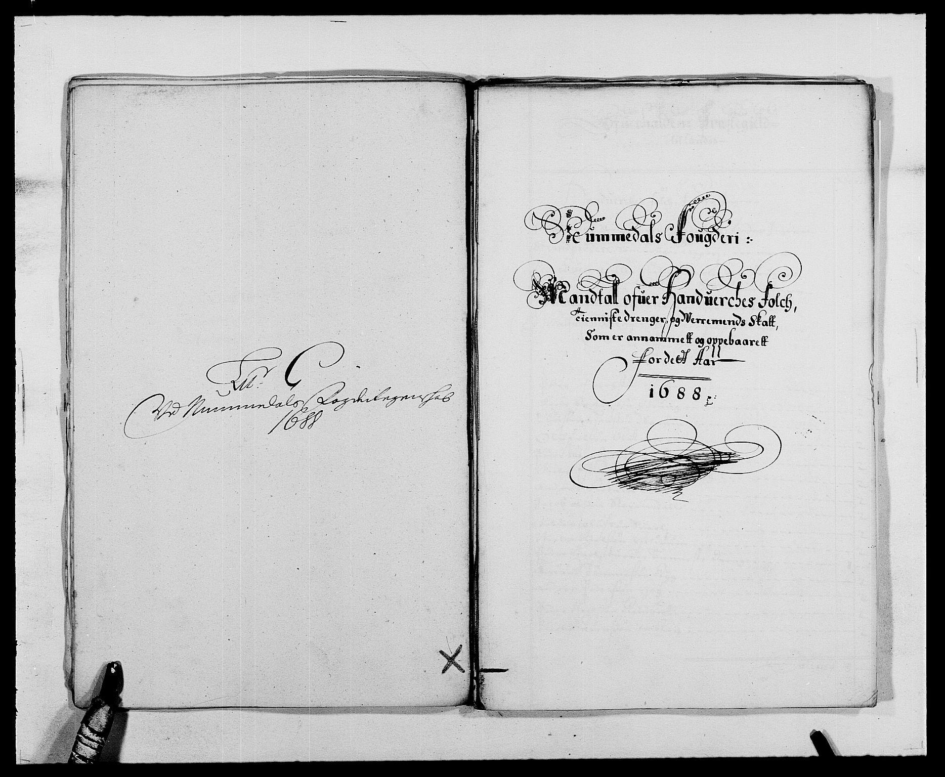 RA, Rentekammeret inntil 1814, Reviderte regnskaper, Fogderegnskap, R64/L4422: Fogderegnskap Namdal, 1687-1689, s. 109