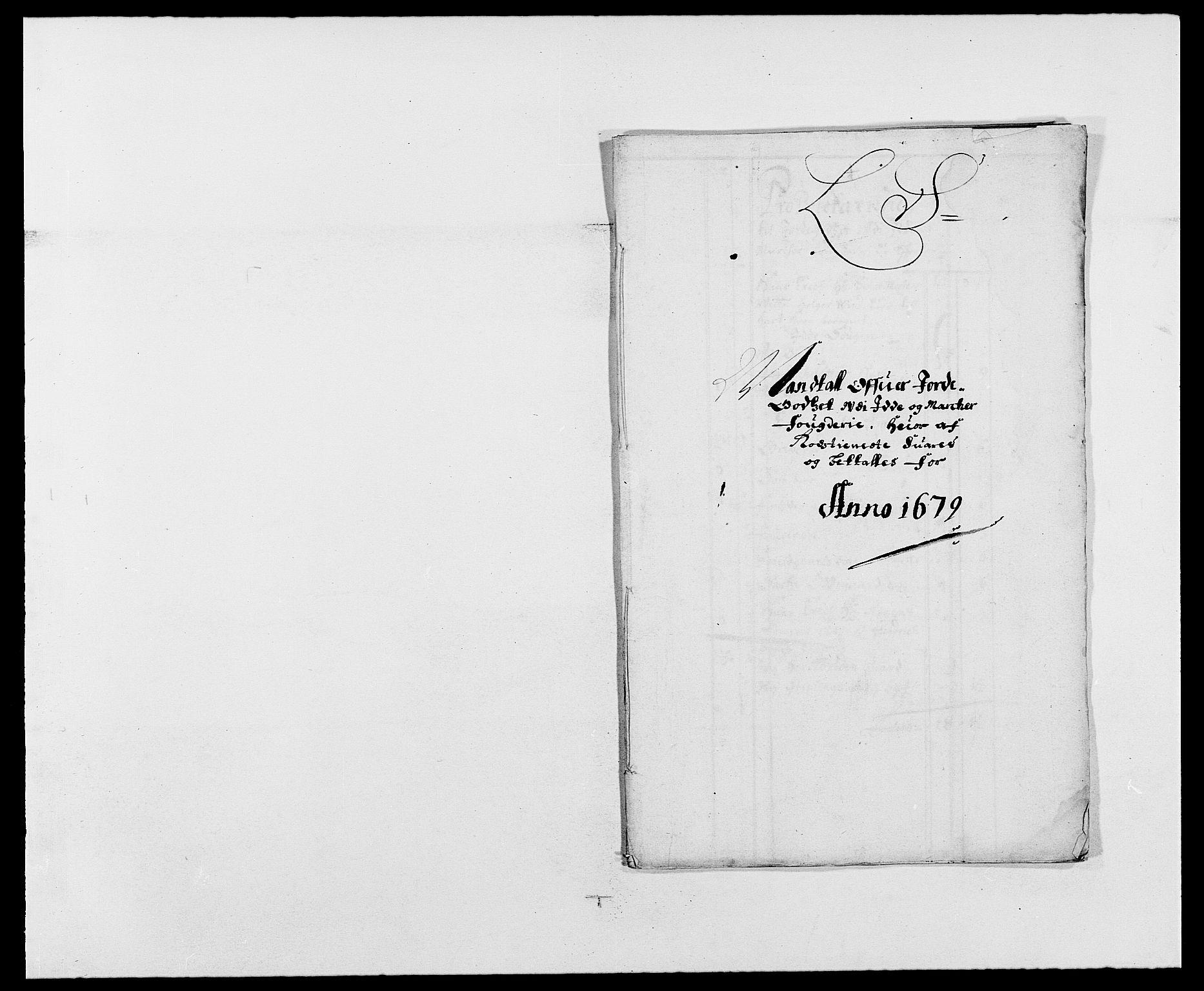 RA, Rentekammeret inntil 1814, Reviderte regnskaper, Fogderegnskap, R01/L0001: Fogderegnskap Idd og Marker, 1678-1679, s. 449