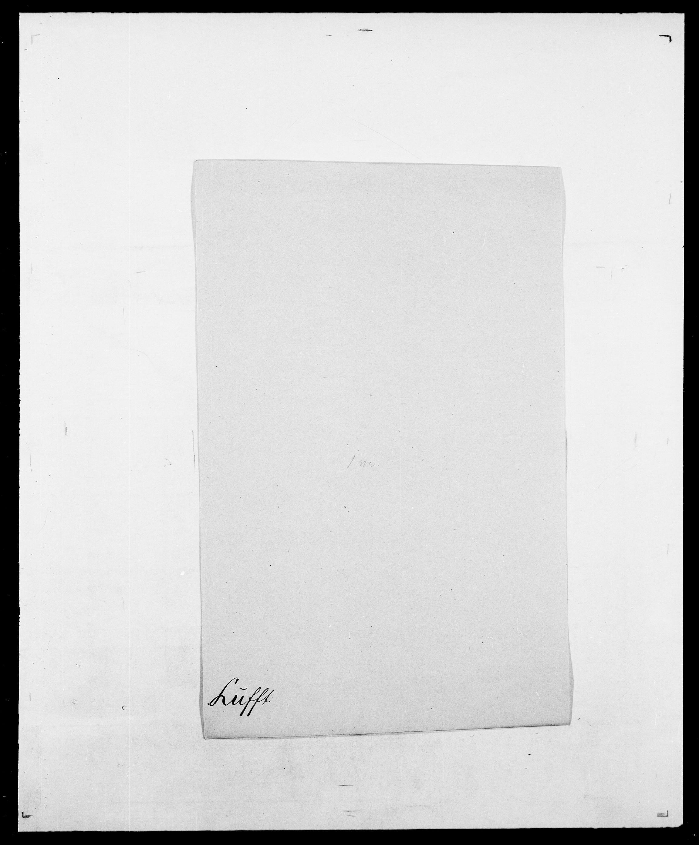 SAO, Delgobe, Charles Antoine - samling, D/Da/L0024: Lobech - Lærum, s. 383