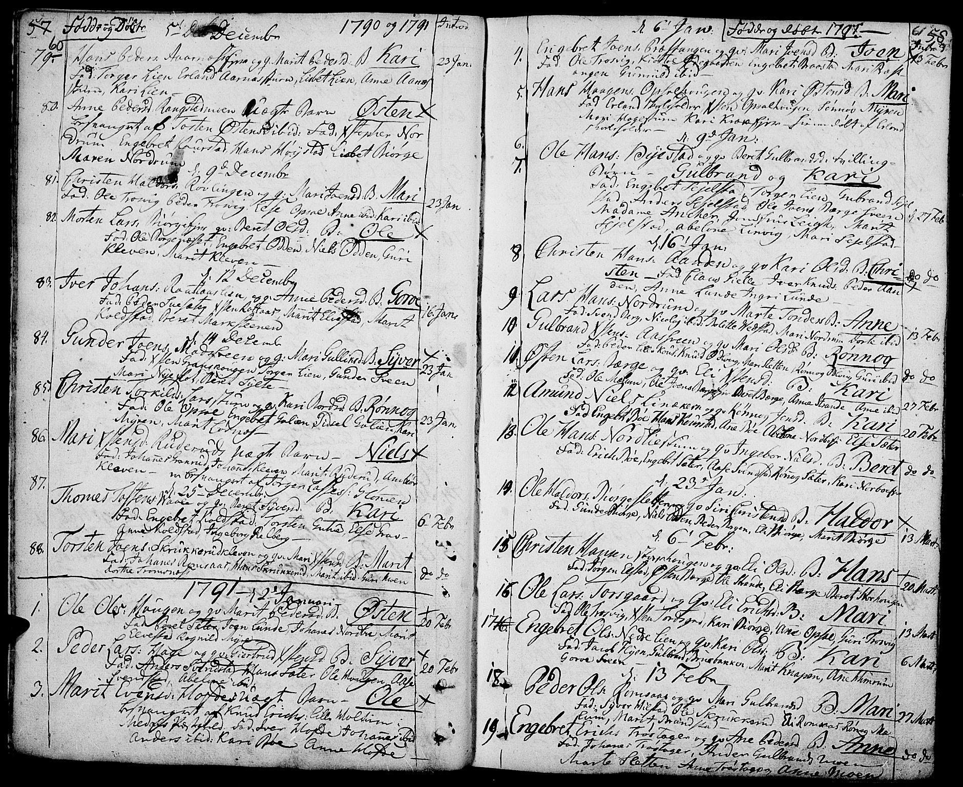 SAH, Ringebu prestekontor, Ministerialbok nr. 3, 1781-1820, s. 60-61