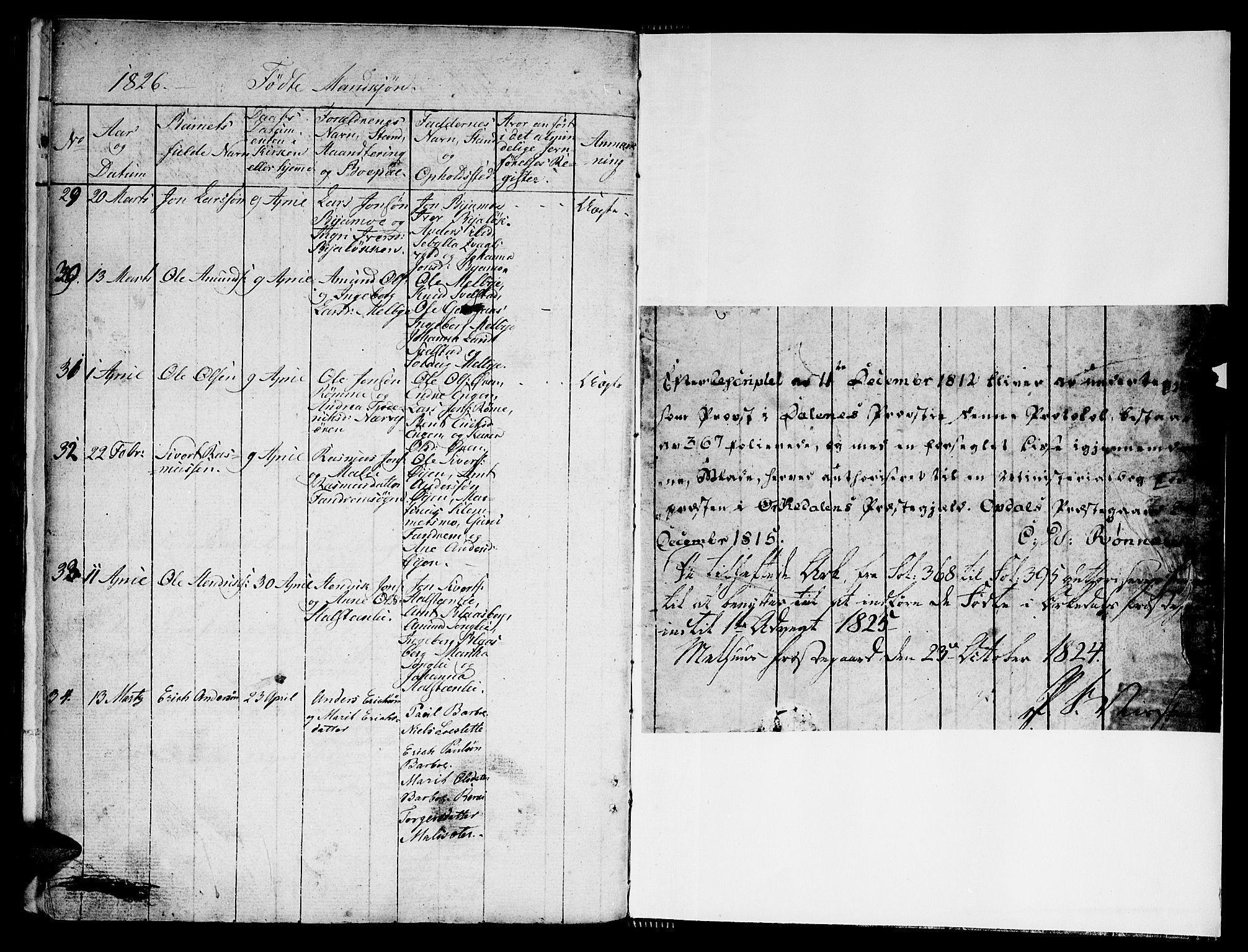SAT, Ministerialprotokoller, klokkerbøker og fødselsregistre - Sør-Trøndelag, 668/L0803: Ministerialbok nr. 668A03, 1800-1826, s. 396