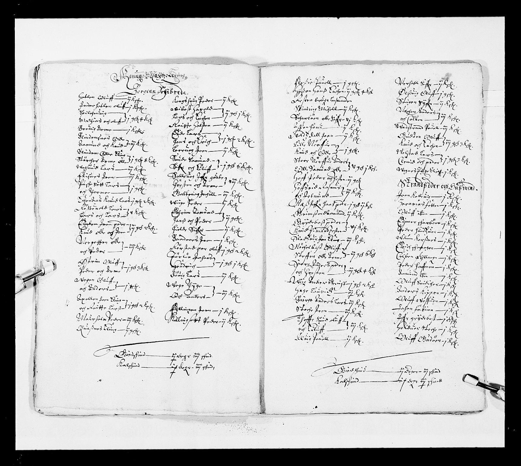 RA, Stattholderembetet 1572-1771, Ek/L0025: Jordebøker 1633-1658:, 1645-1646, s. 246
