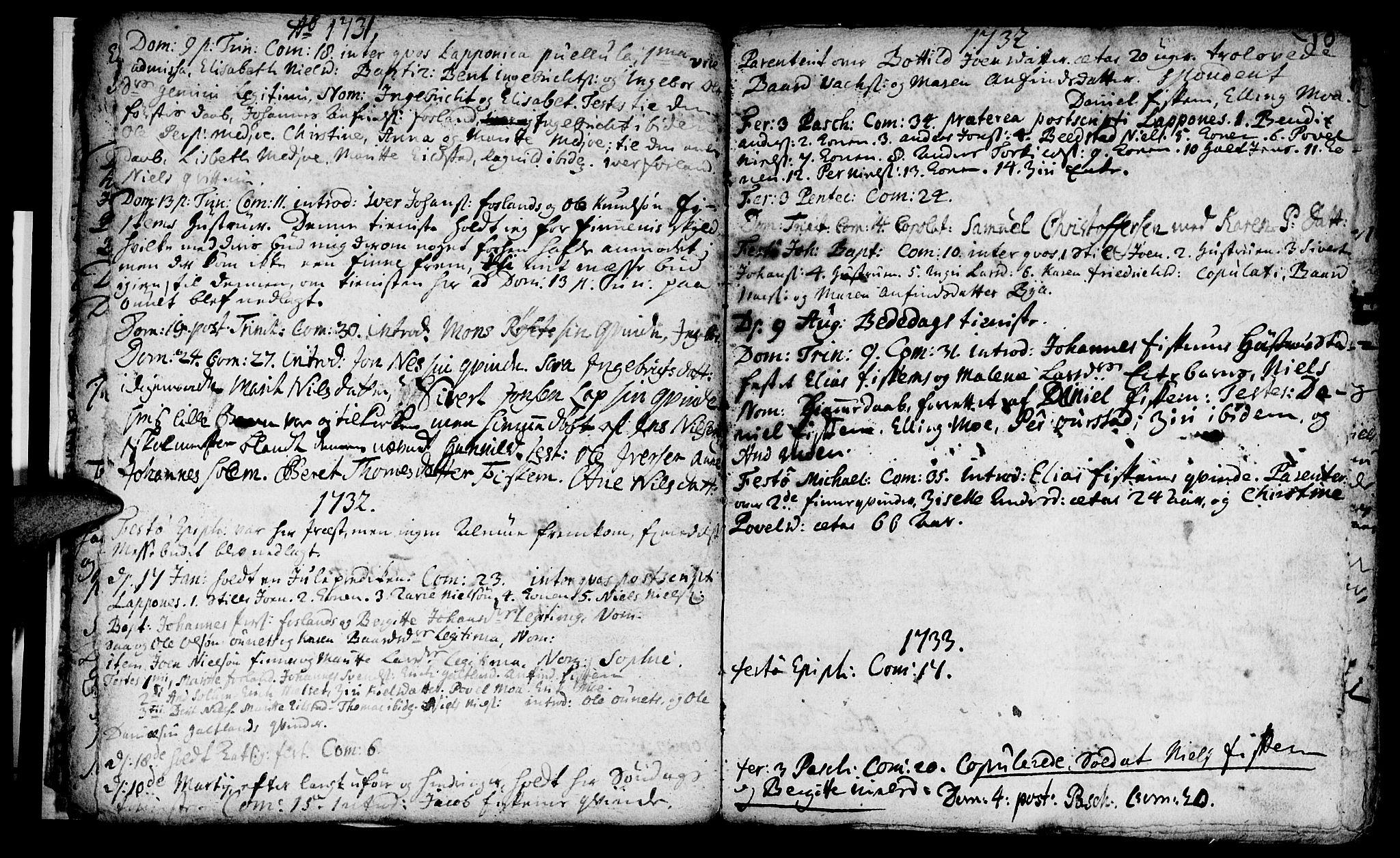 SAT, Ministerialprotokoller, klokkerbøker og fødselsregistre - Nord-Trøndelag, 759/L0525: Ministerialbok nr. 759A01, 1706-1748, s. 10