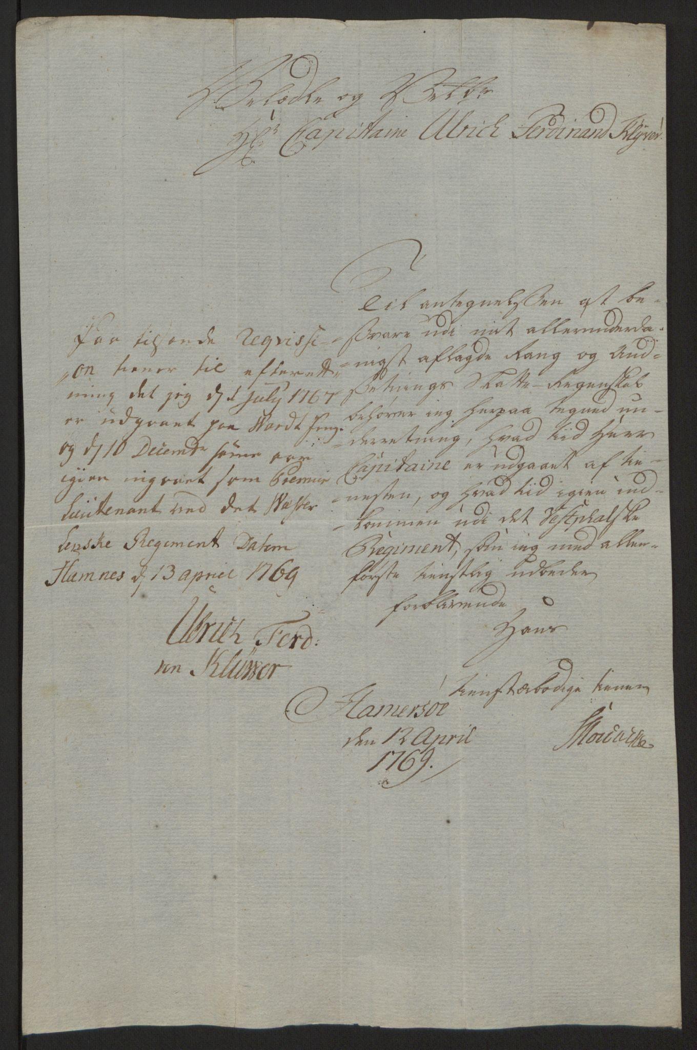 RA, Rentekammeret inntil 1814, Reviderte regnskaper, Fogderegnskap, R64/L4502: Ekstraskatten Namdal, 1762-1772, s. 274