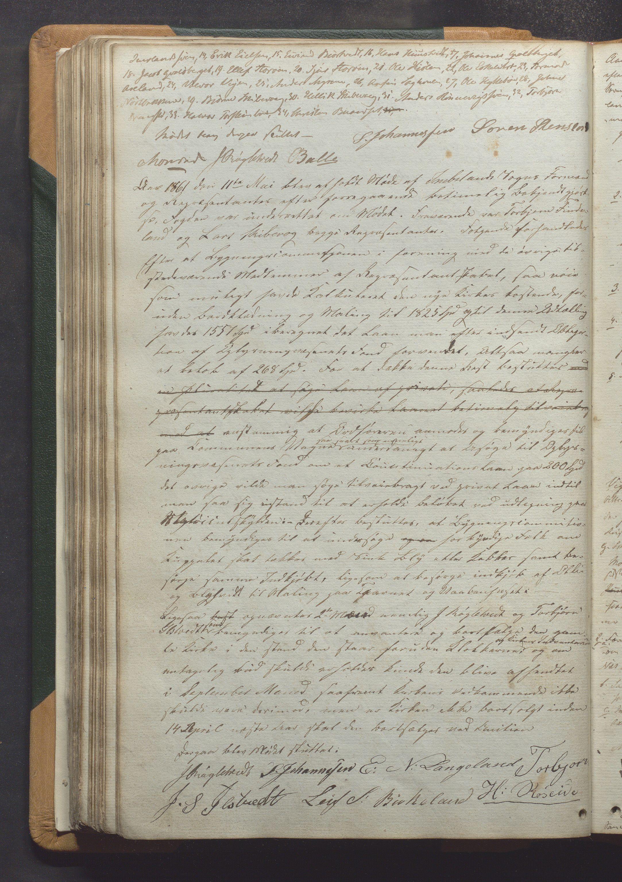 IKAR, Vikedal kommune - Formannskapet, Aaa/L0001: Møtebok, 1837-1874, s. 134b