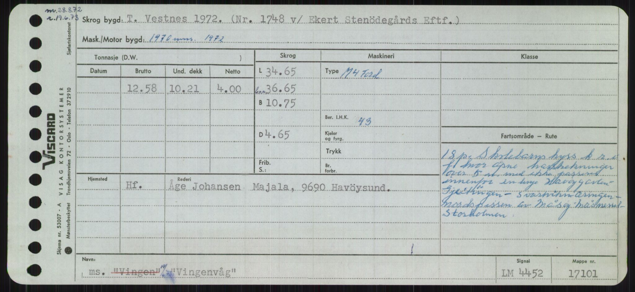RA, Sjøfartsdirektoratet med forløpere, Skipsmålingen, H/Ha/L0006: Fartøy, Sver-Å, s. 521