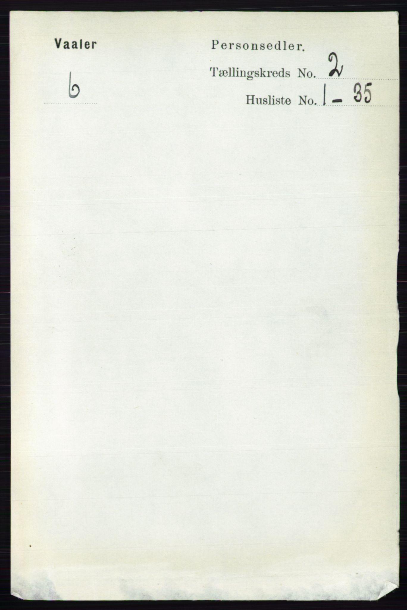 RA, Folketelling 1891 for 0137 Våler herred, 1891, s. 685
