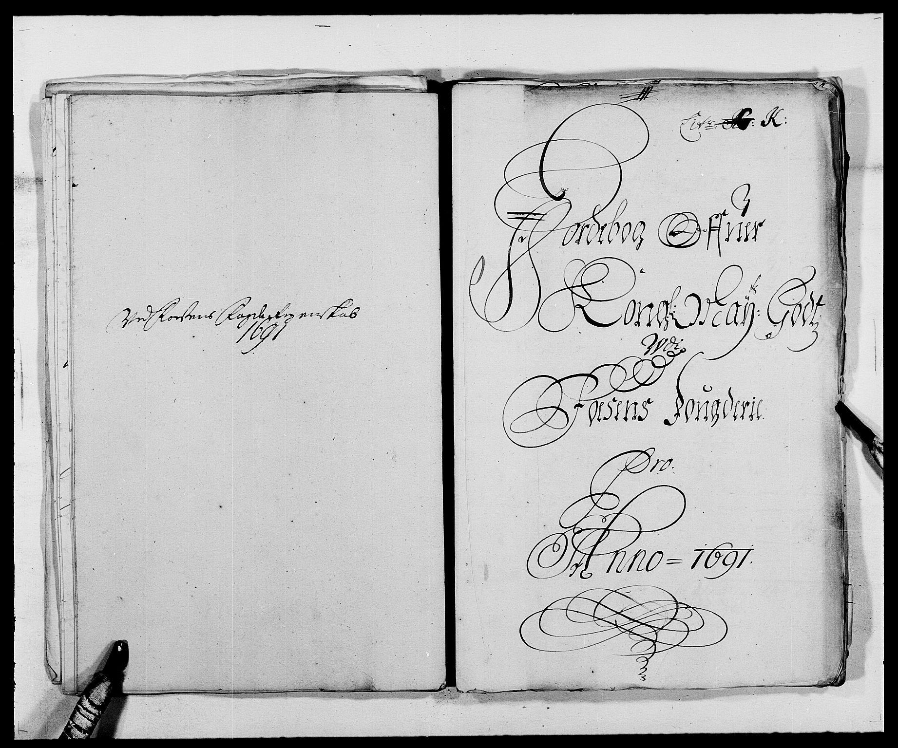 RA, Rentekammeret inntil 1814, Reviderte regnskaper, Fogderegnskap, R57/L3848: Fogderegnskap Fosen, 1690-1691, s. 311