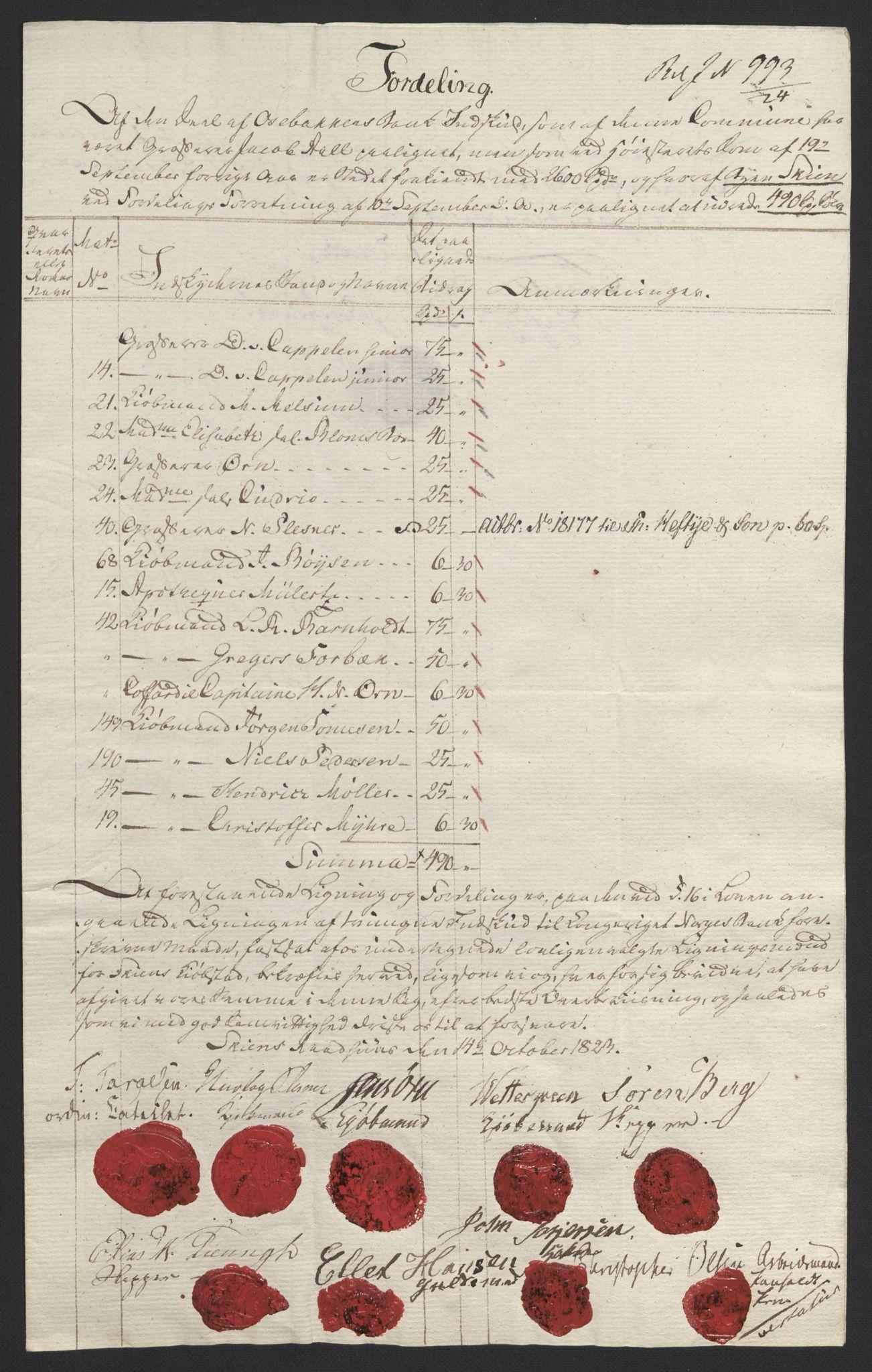 NOBA, Norges Bank/Sølvskatten 1816*, 1816-1823, s. 8