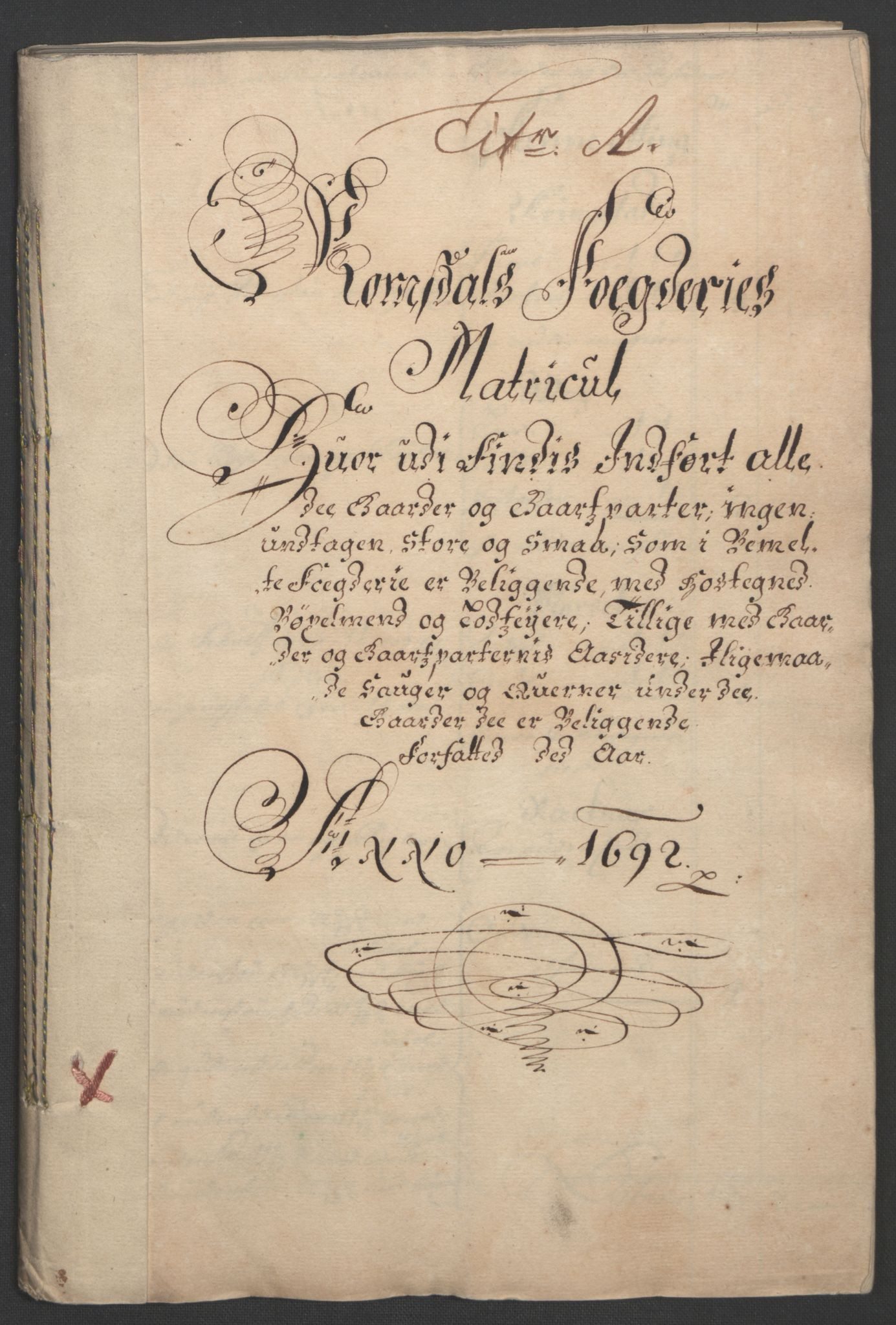RA, Rentekammeret inntil 1814, Reviderte regnskaper, Fogderegnskap, R55/L3650: Fogderegnskap Romsdal, 1692, s. 12