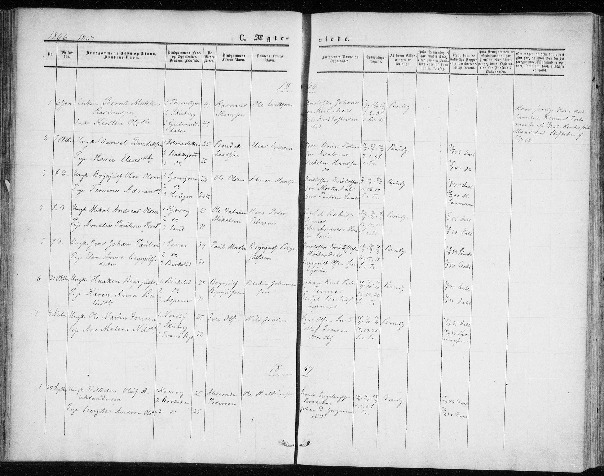 SATØ, Balsfjord sokneprestembete, G/Ga/L0001kirke: Ministerialbok nr. 1, 1858-1870