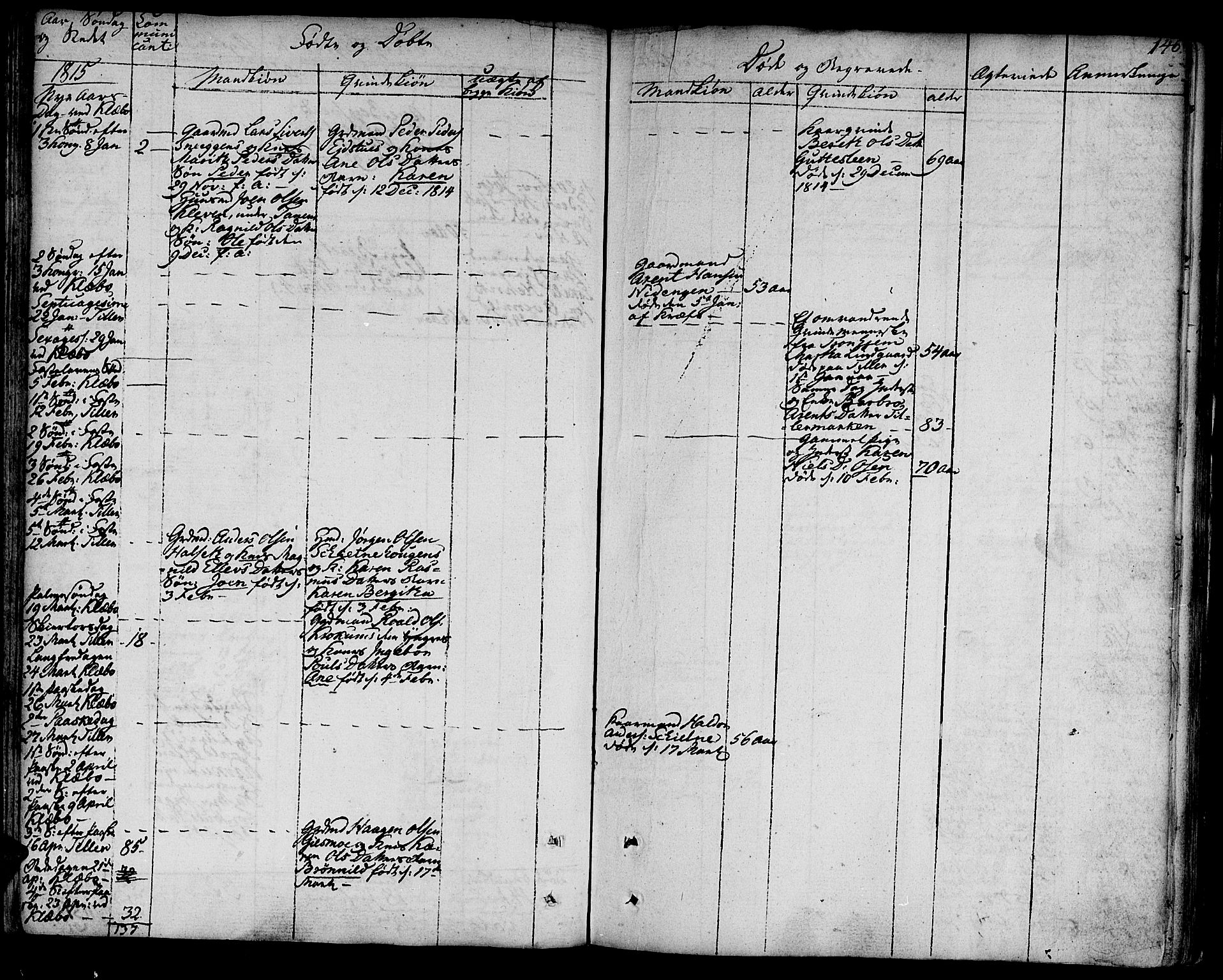 SAT, Ministerialprotokoller, klokkerbøker og fødselsregistre - Sør-Trøndelag, 618/L0438: Ministerialbok nr. 618A03, 1783-1815, s. 146