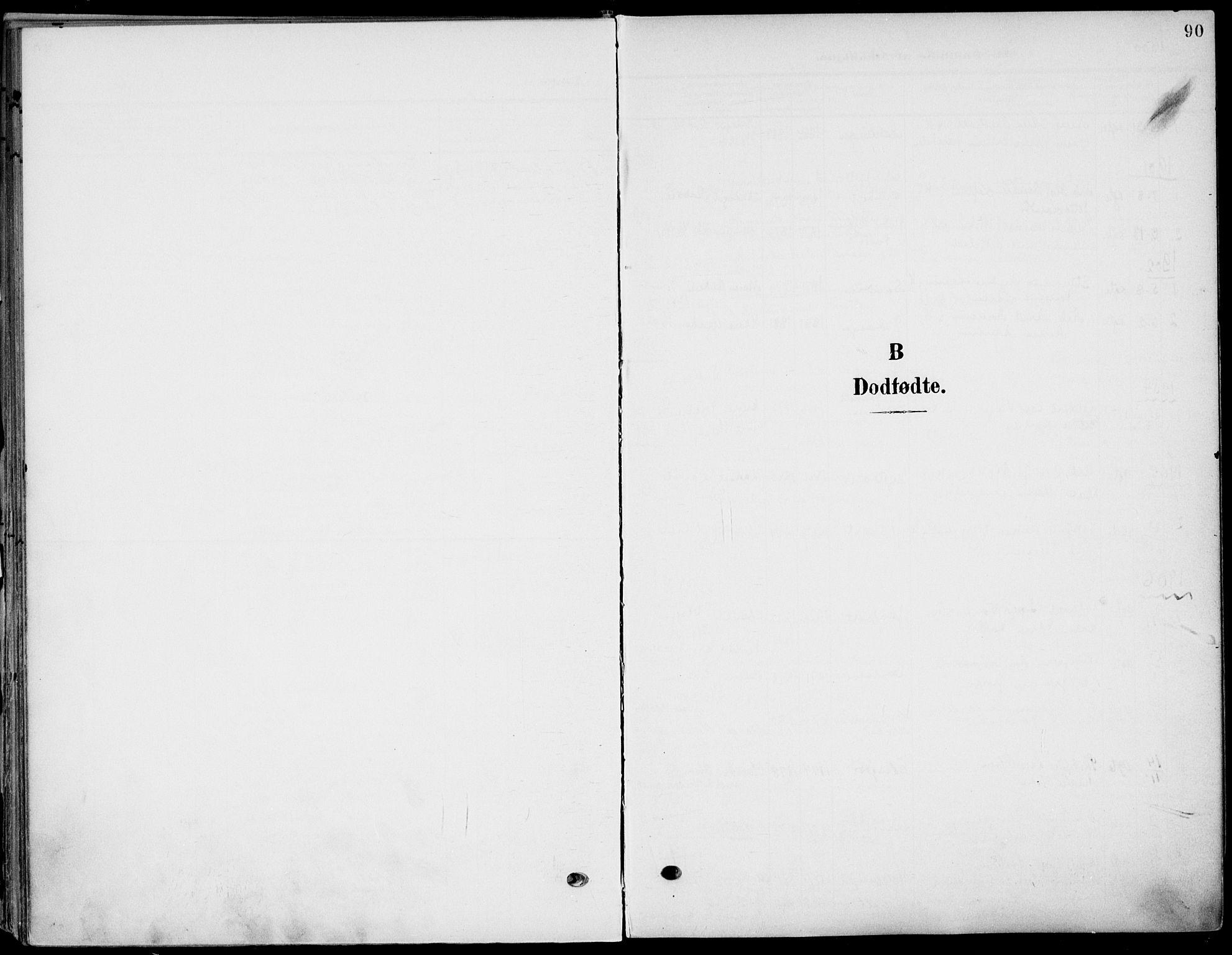 SAKO, Eidanger kirkebøker, F/Fa/L0013: Ministerialbok nr. 13, 1900-1913, s. 90