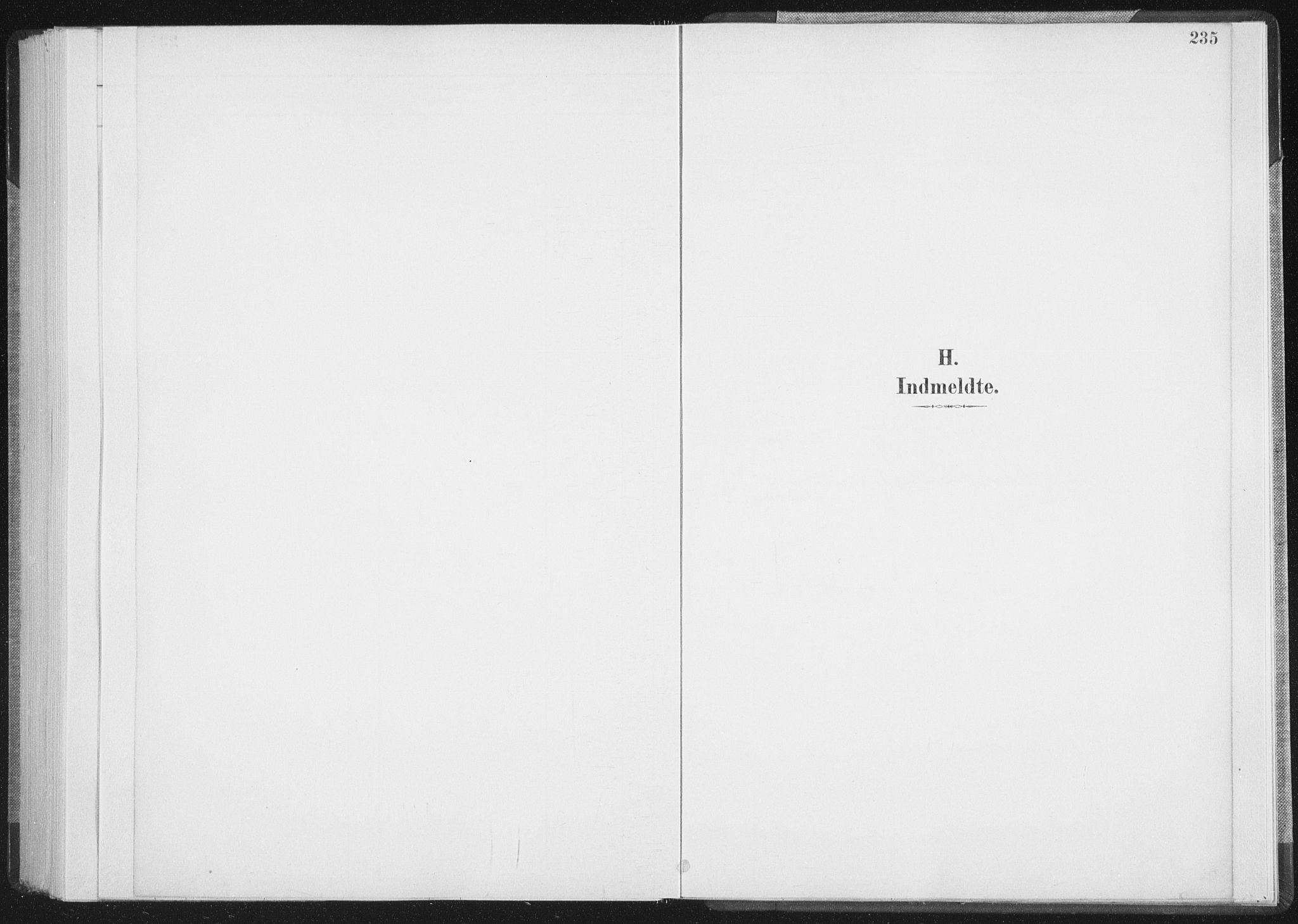 SAT, Ministerialprotokoller, klokkerbøker og fødselsregistre - Nordland, 898/L1422: Ministerialbok nr. 898A02, 1887-1908, s. 235