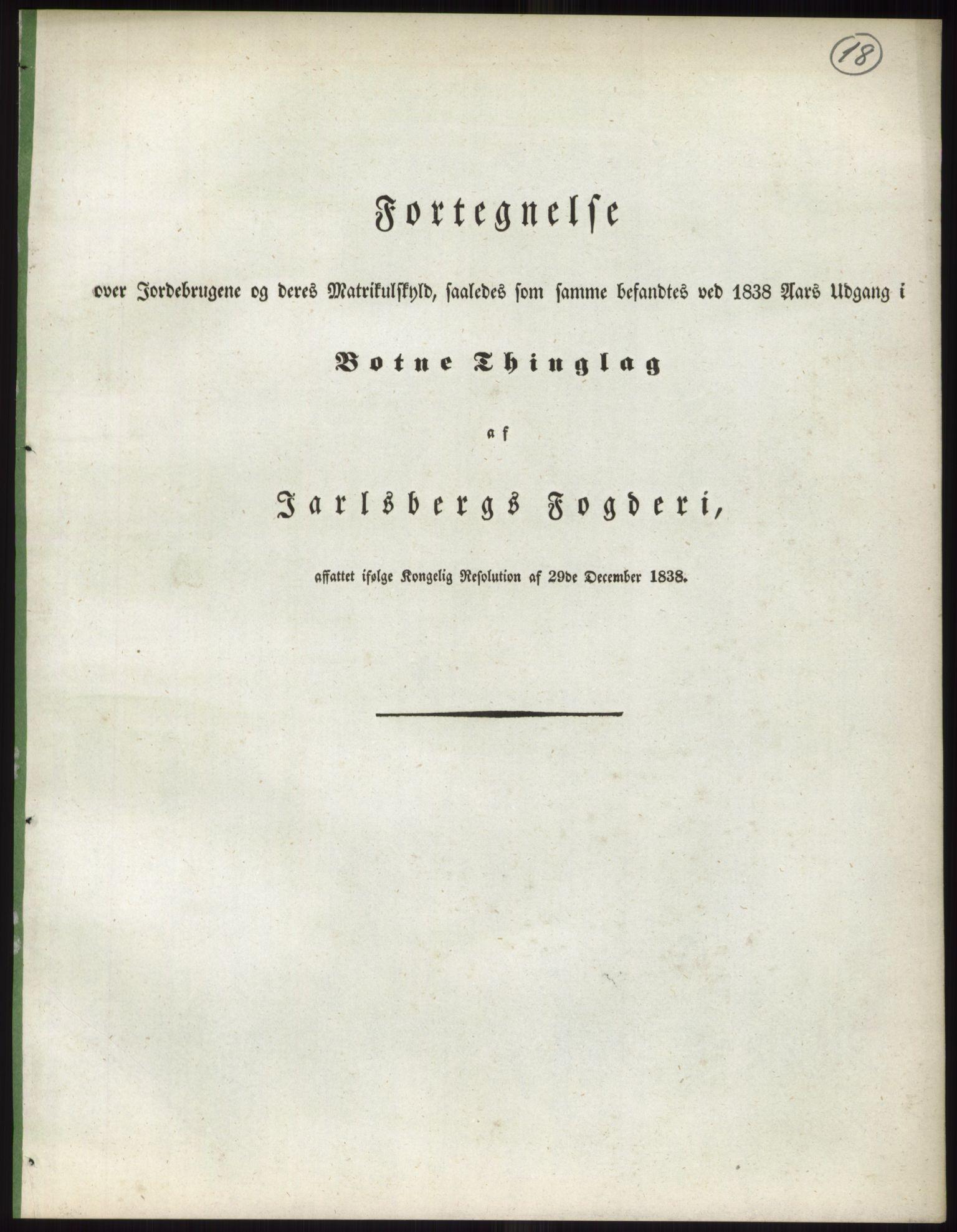 RA, 1838-matrikkelen (publikasjon)*, 1838, s. 18