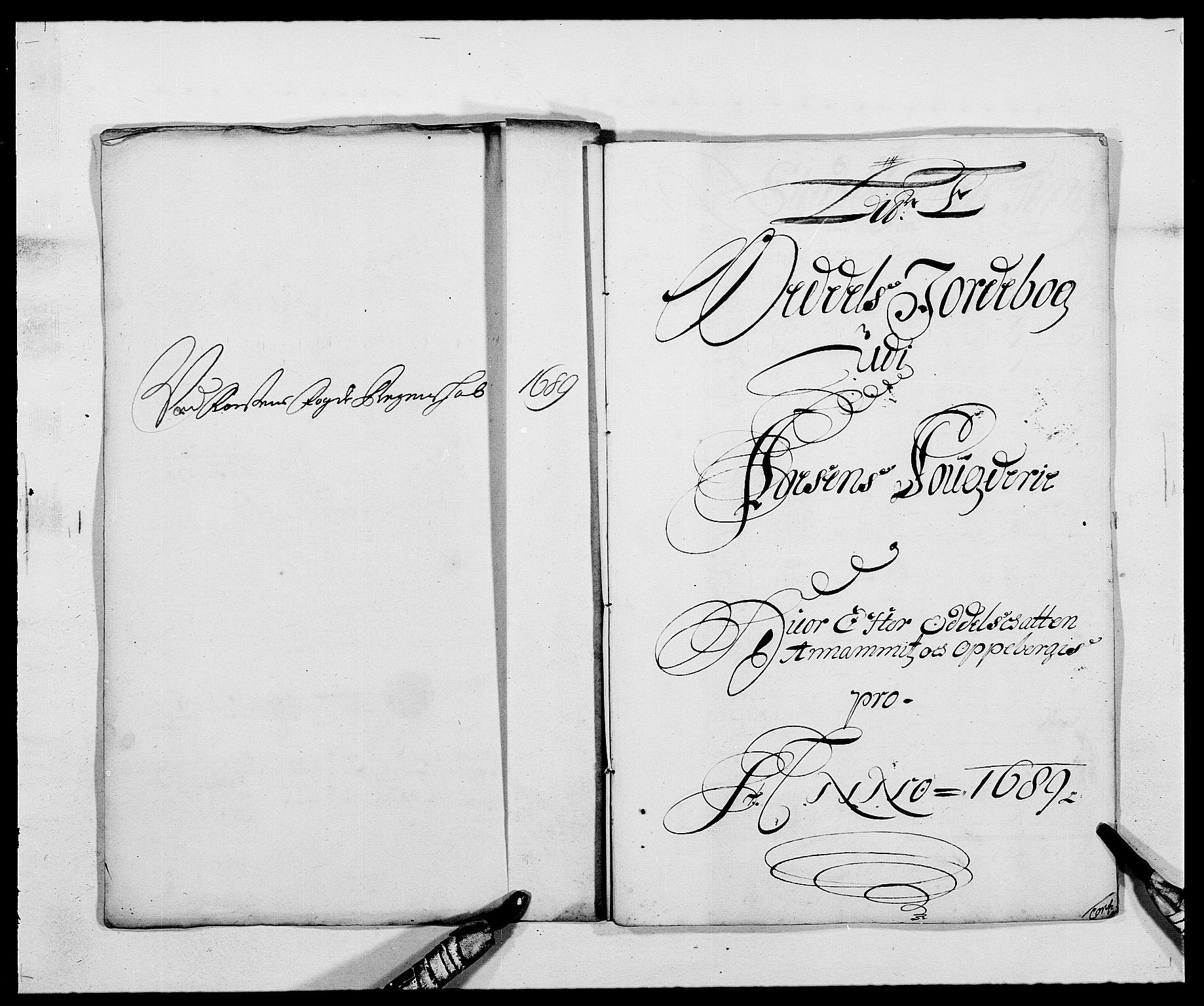 RA, Rentekammeret inntil 1814, Reviderte regnskaper, Fogderegnskap, R57/L3847: Fogderegnskap Fosen, 1689, s. 31