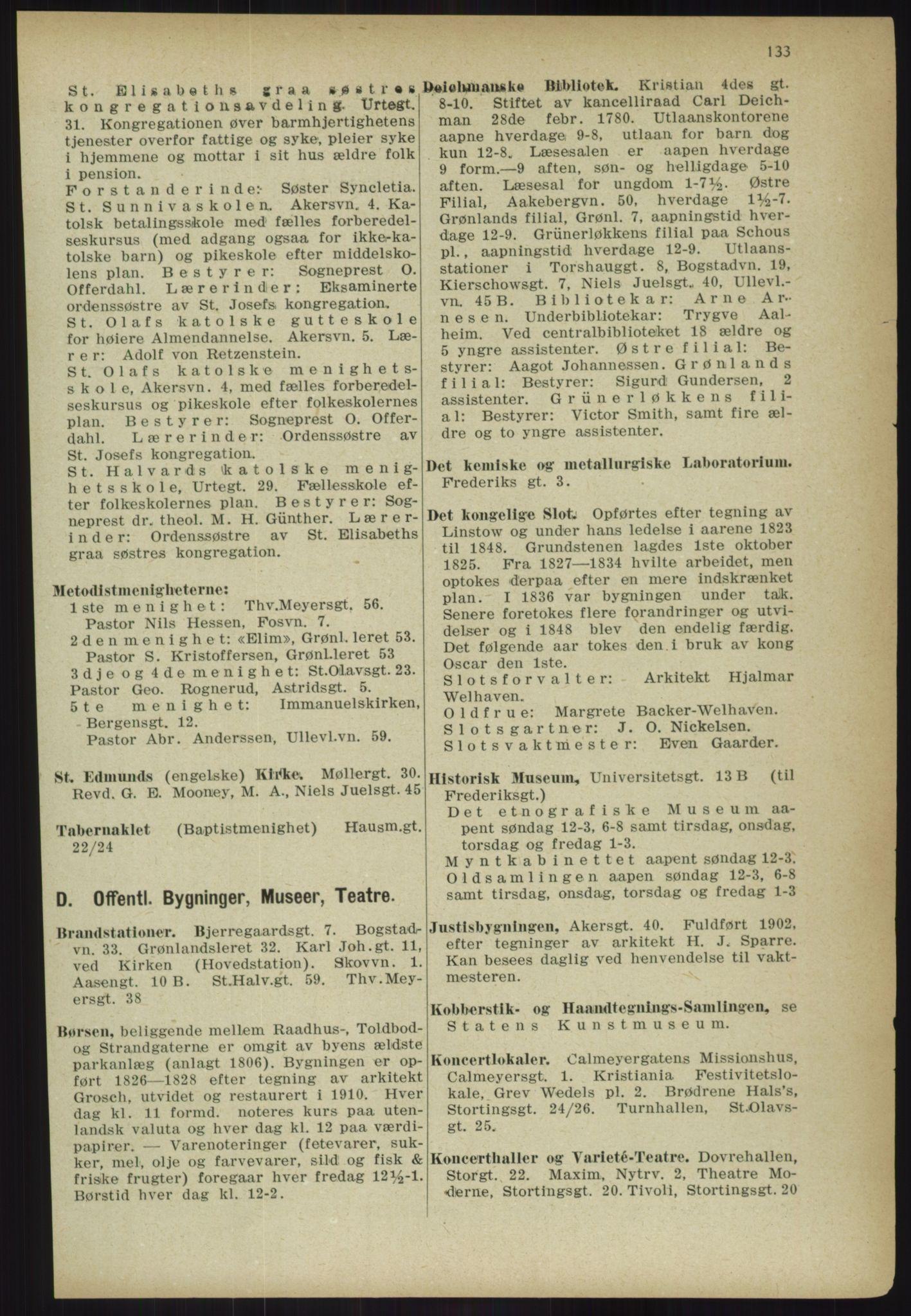 PUBL, Kristiania/Oslo adressebok, 1918, s. 146