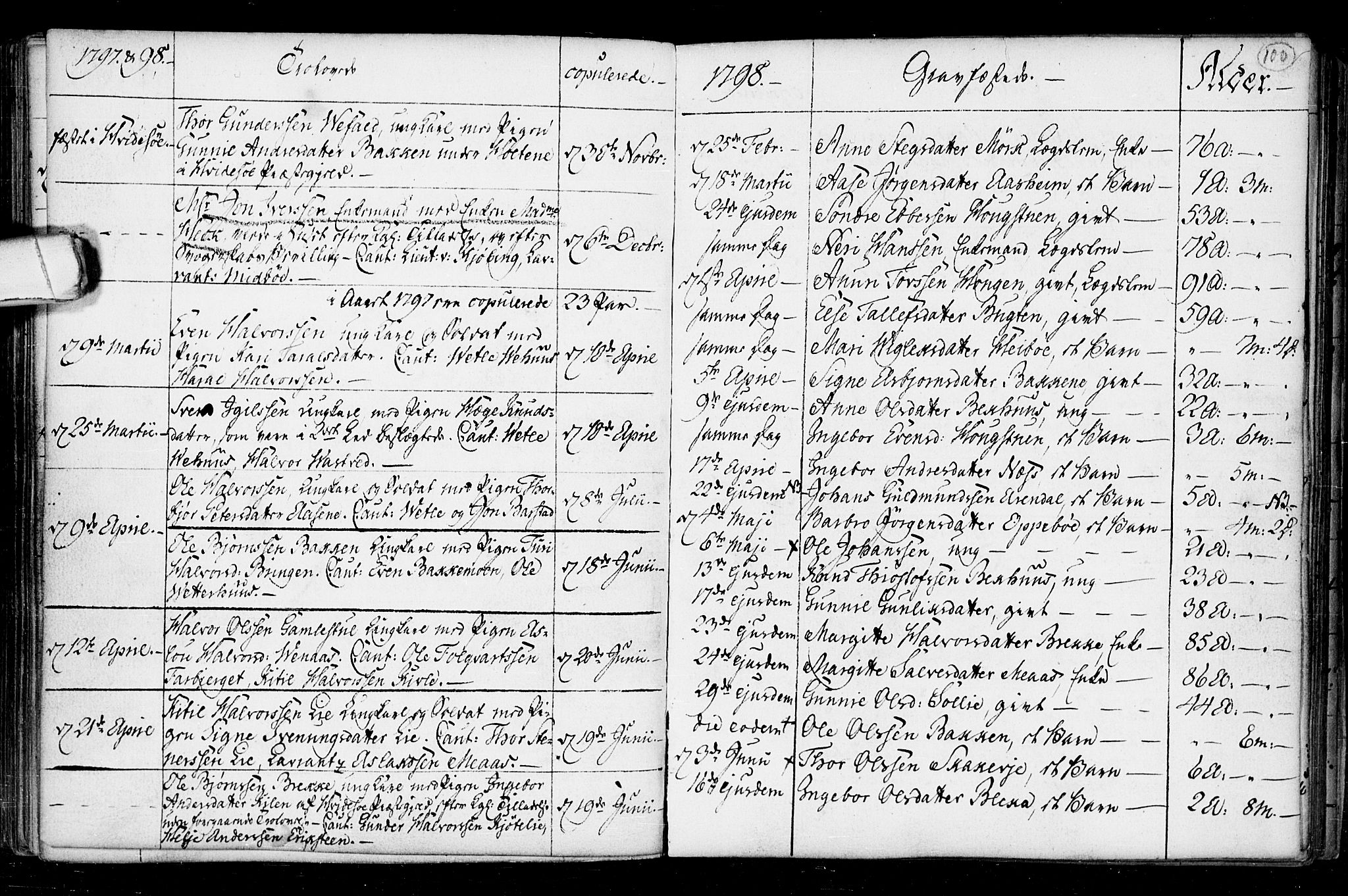 SAKO, Seljord kirkebøker, F/Fa/L0008: Ministerialbok nr. I 8, 1755-1814, s. 100