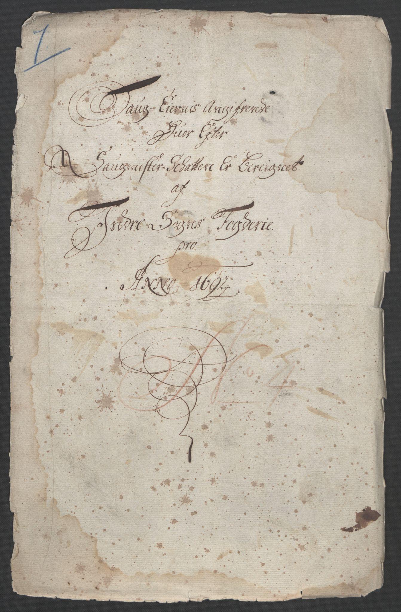 RA, Rentekammeret inntil 1814, Reviderte regnskaper, Fogderegnskap, R52/L3306: Fogderegnskap Sogn, 1691-1692, s. 232