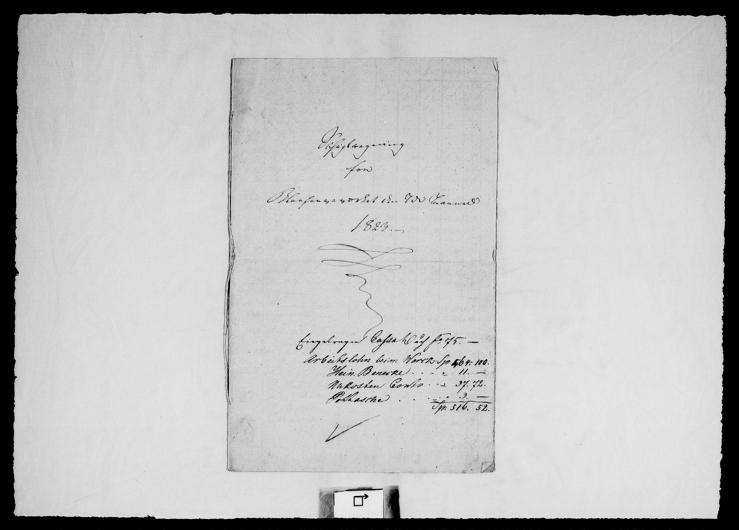 RA, Modums Blaafarveværk, G/Gd/Gdd/L0251, 1823-1826, s. 2