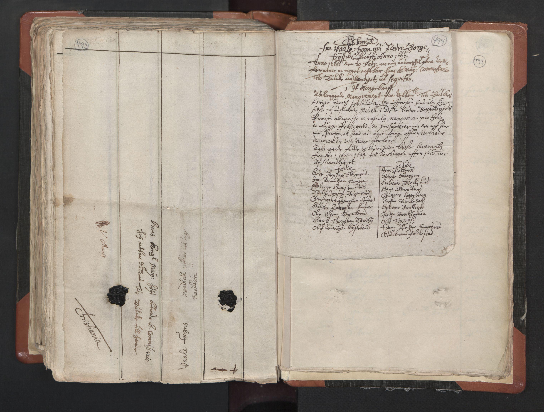 RA, Sogneprestenes manntall 1664-1666, nr. 1: Nedre Borgesyssel prosti, 1664-1666, s. 493-494