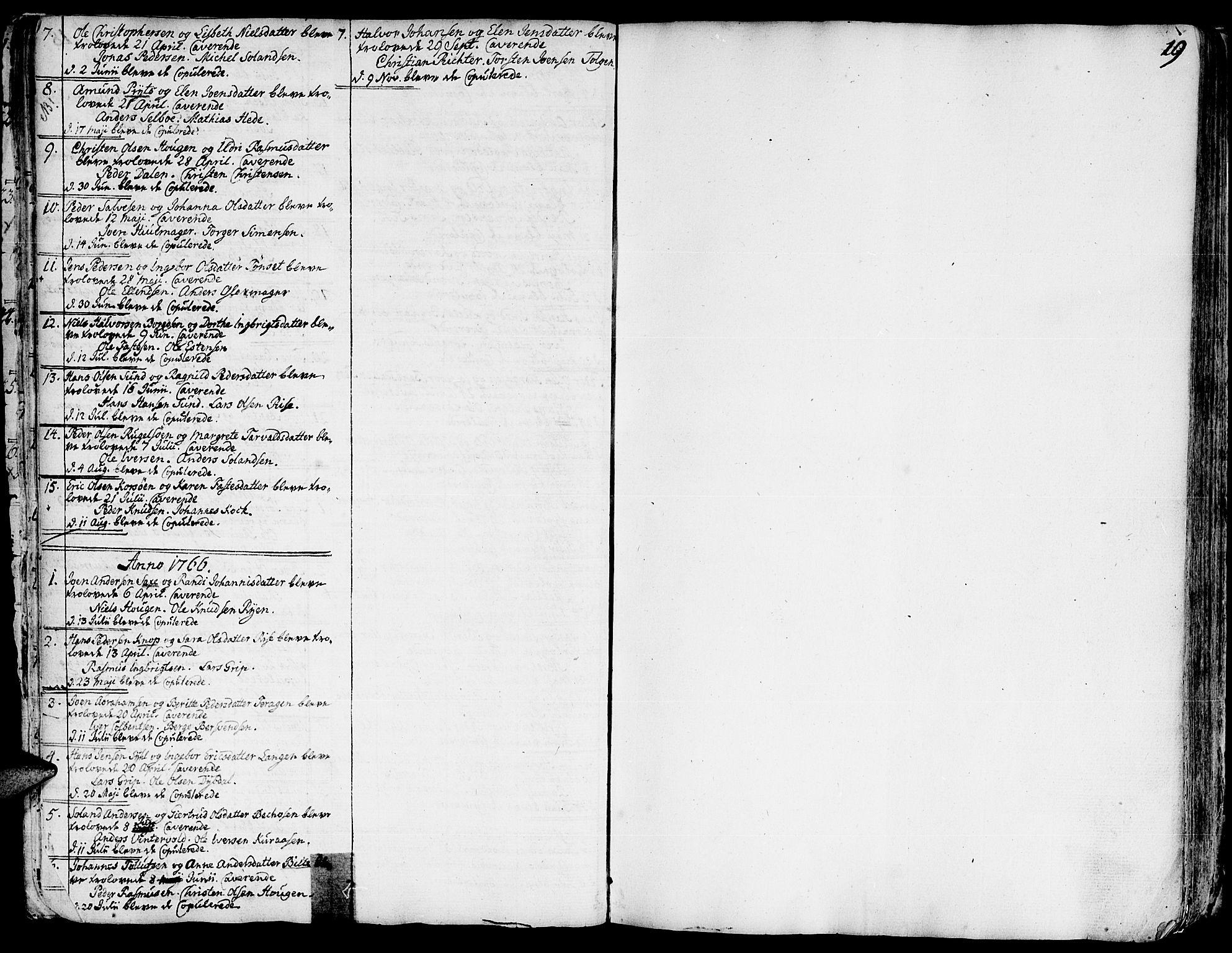 SAT, Ministerialprotokoller, klokkerbøker og fødselsregistre - Sør-Trøndelag, 681/L0925: Ministerialbok nr. 681A03, 1727-1766, s. 19