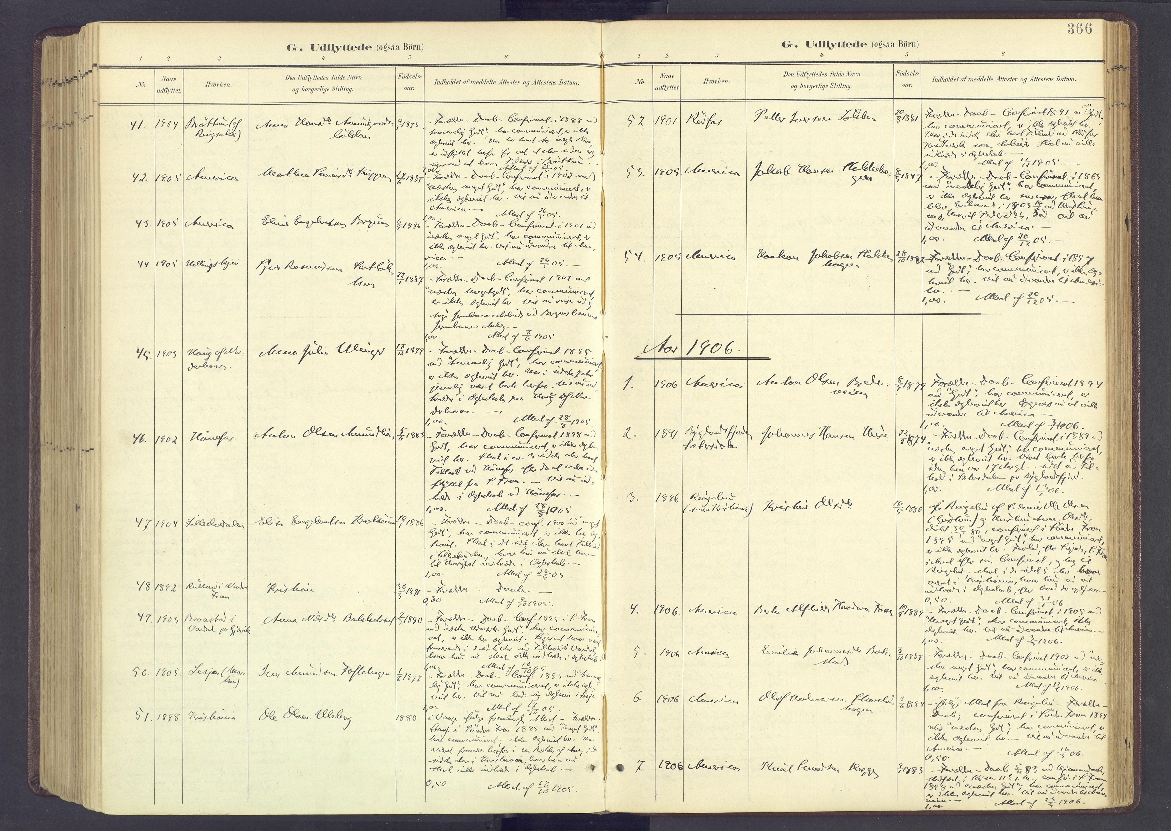SAH, Sør-Fron prestekontor, H/Ha/Haa/L0004: Ministerialbok nr. 4, 1898-1919, s. 366