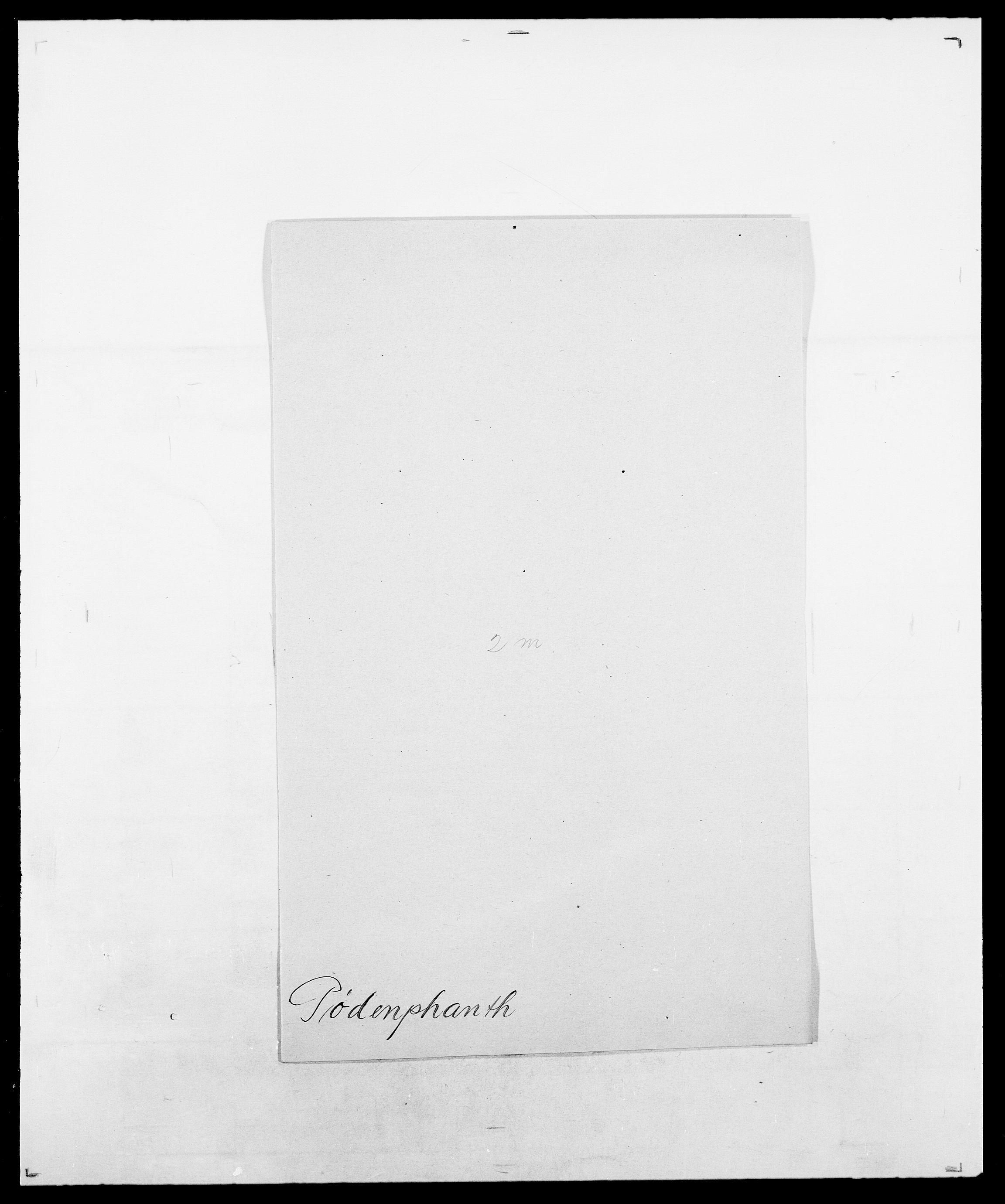 SAO, Delgobe, Charles Antoine - samling, D/Da/L0031: de Place - Raaum, s. 454