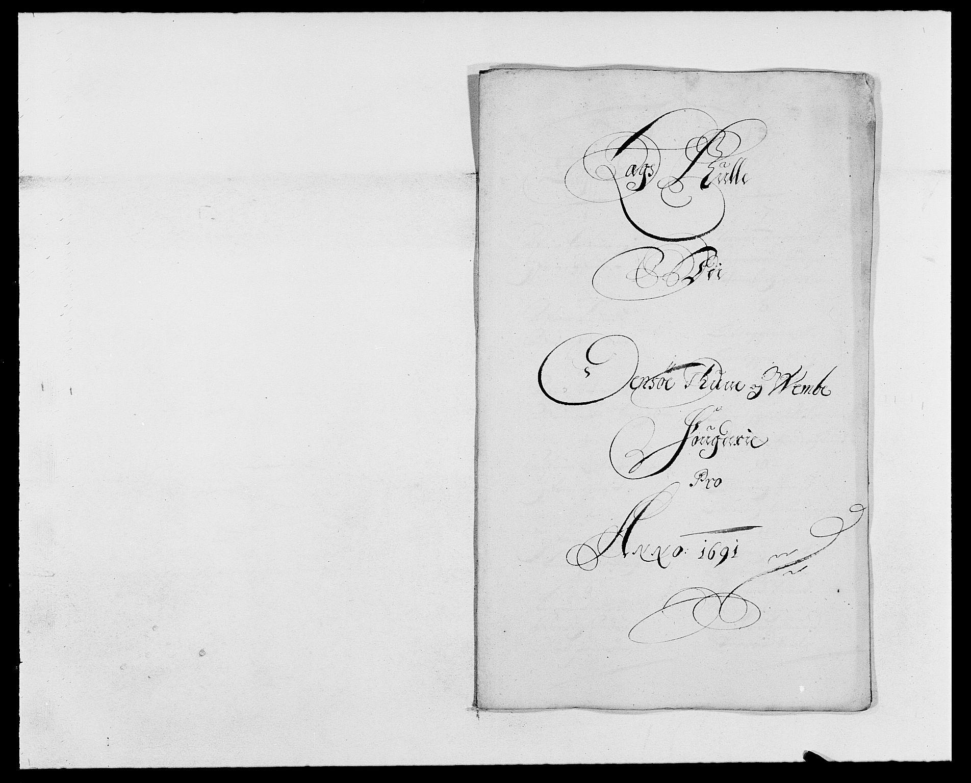 RA, Rentekammeret inntil 1814, Reviderte regnskaper, Fogderegnskap, R03/L0119: Fogderegnskap Onsøy, Tune, Veme og Åbygge fogderi, 1690-1691, s. 402
