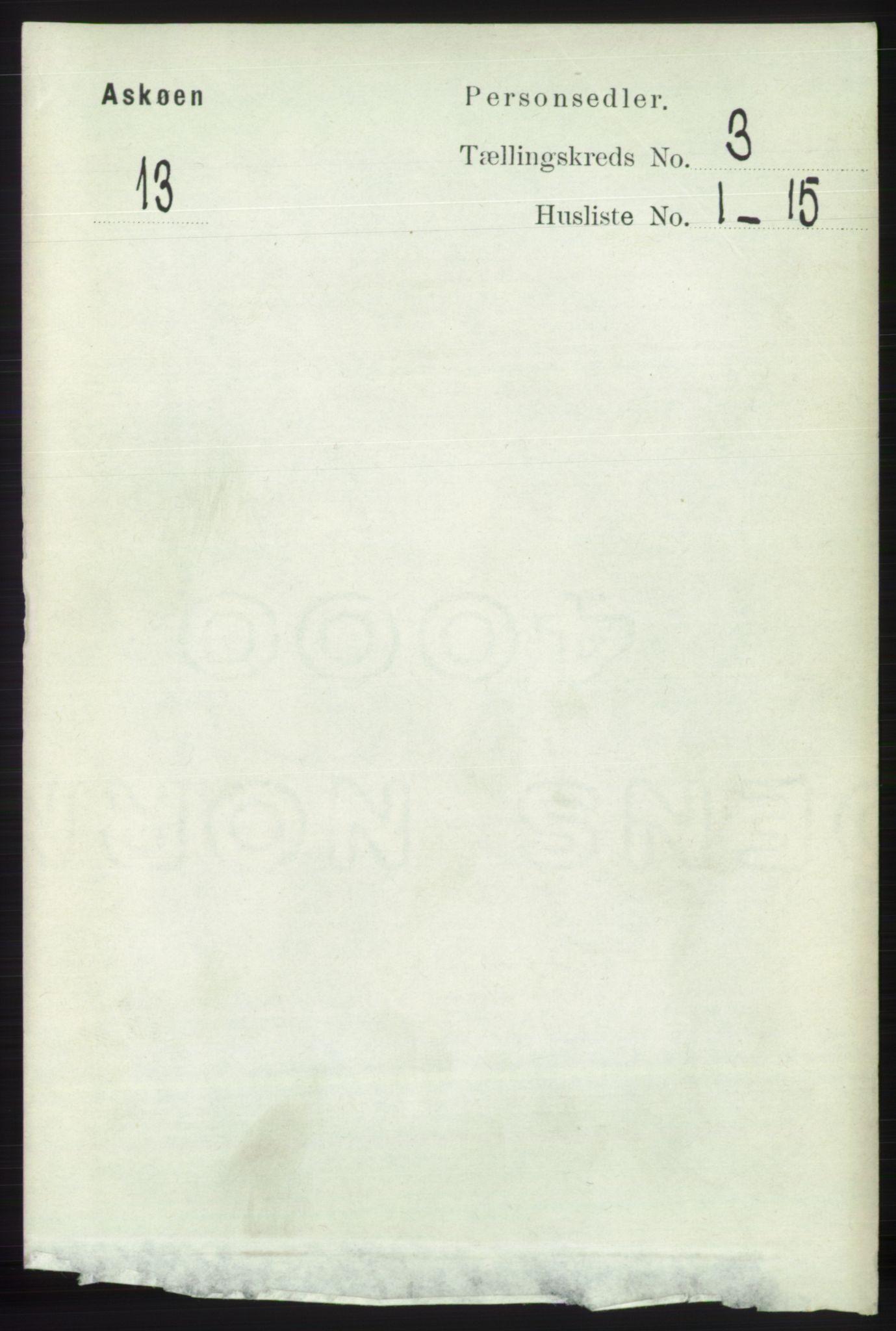 RA, Folketelling 1891 for 1247 Askøy herred, 1891, s. 1886