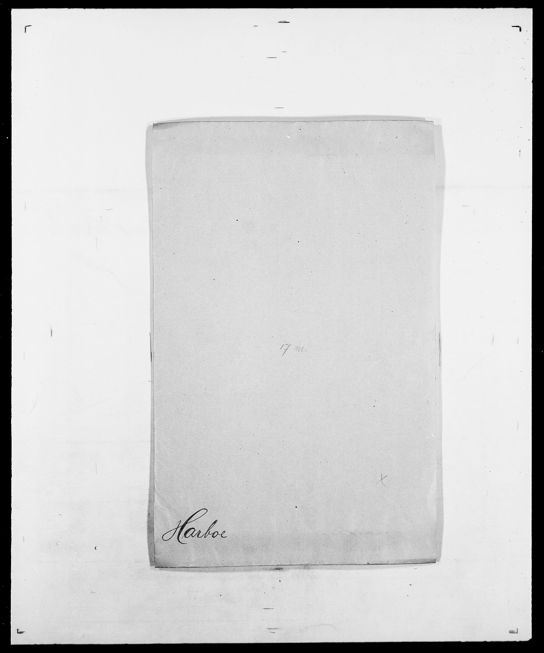 SAO, Delgobe, Charles Antoine - samling, D/Da/L0016: Hamborg - Hektoen, s. 377