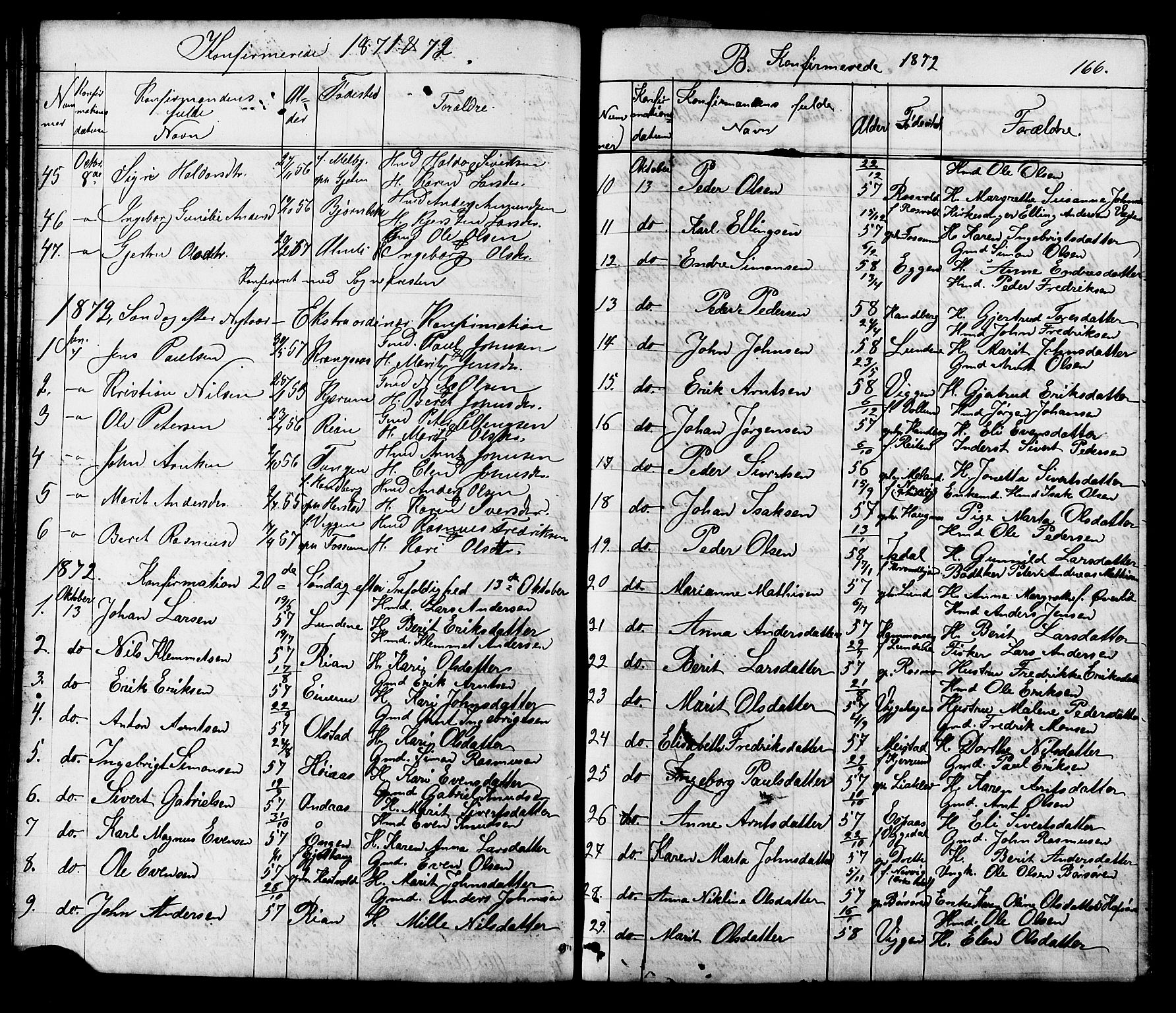 SAT, Ministerialprotokoller, klokkerbøker og fødselsregistre - Sør-Trøndelag, 665/L0777: Klokkerbok nr. 665C02, 1867-1915, s. 166